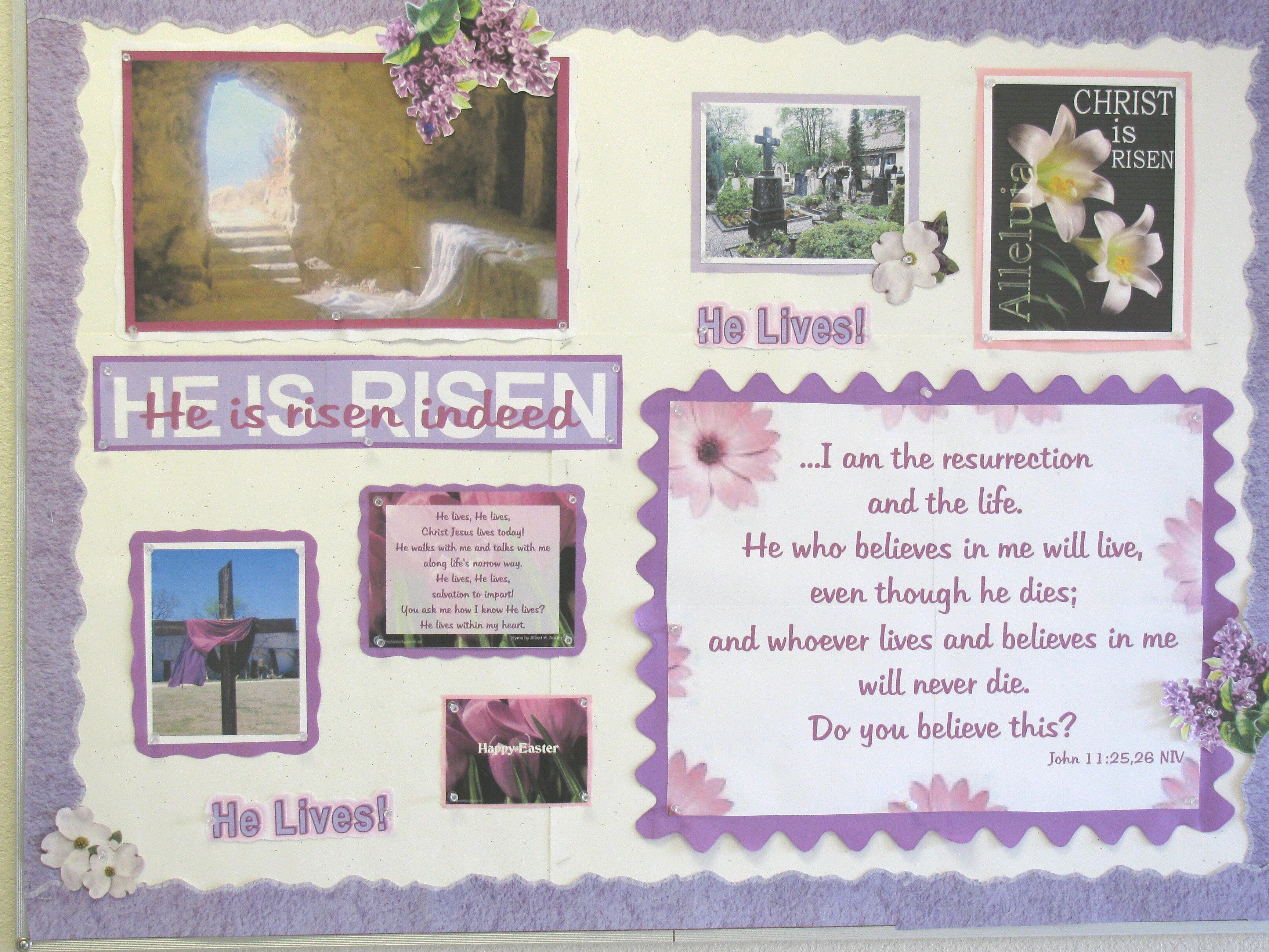 10 Most Recommended Easter Bulletin Board Ideas For Church bulletin boards and room decoration 2020