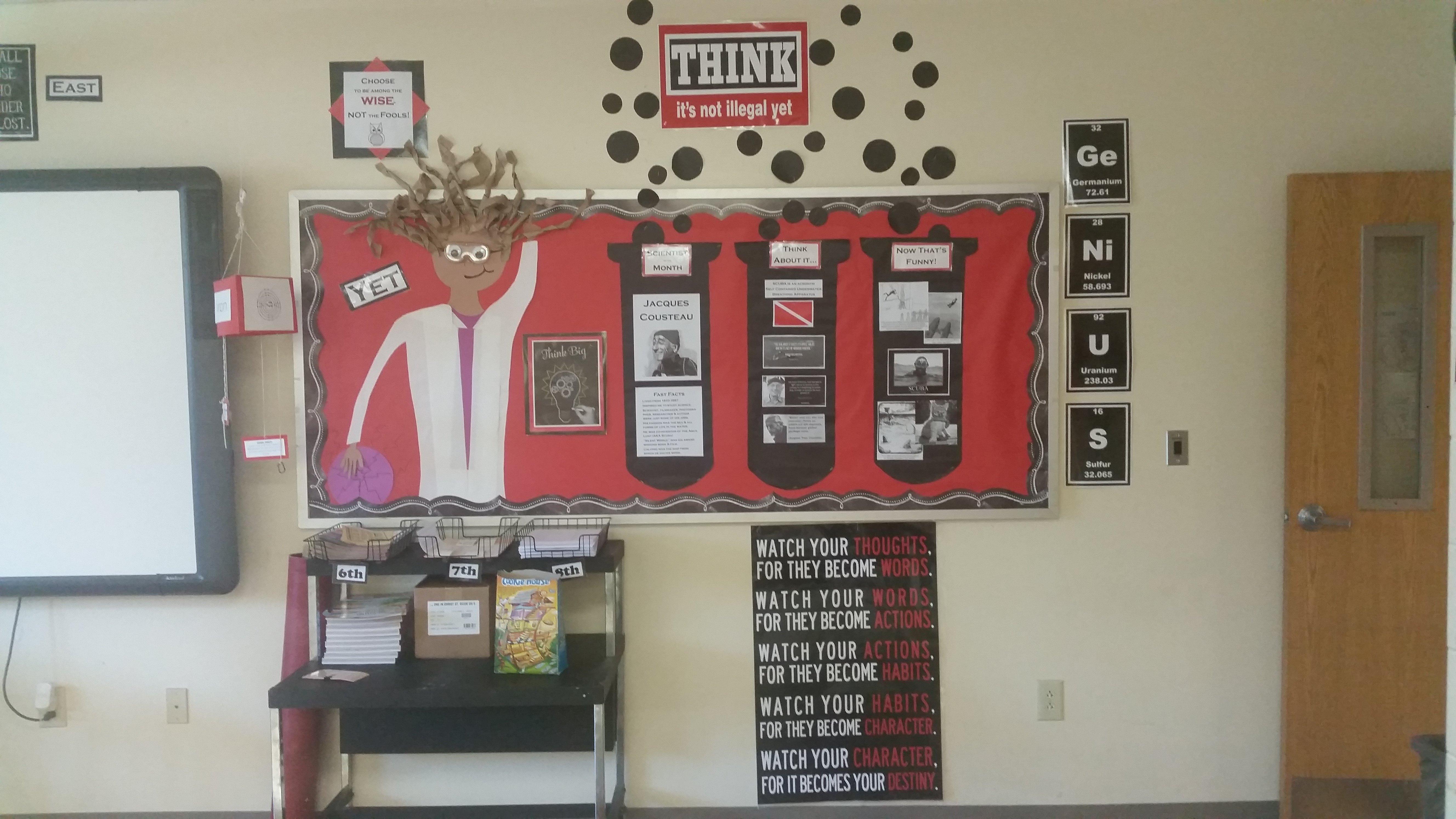 10 Lovable Bulletin Board Ideas Middle School bulletin boards daisies on the desk 1 2020
