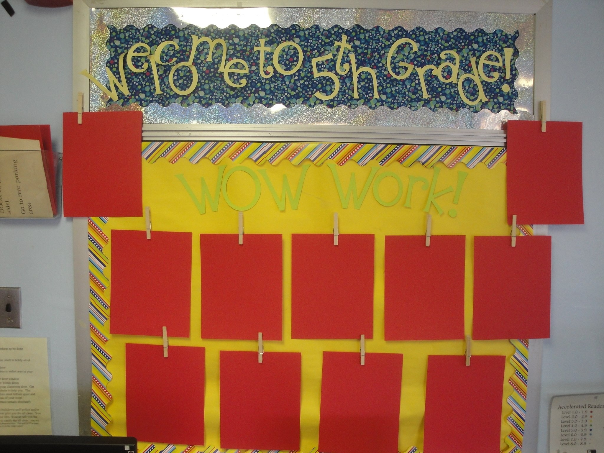 10 Amazing Fifth Grade Bulletin Board Ideas bulletin boards fun in fifth grade at jcs 1 2020