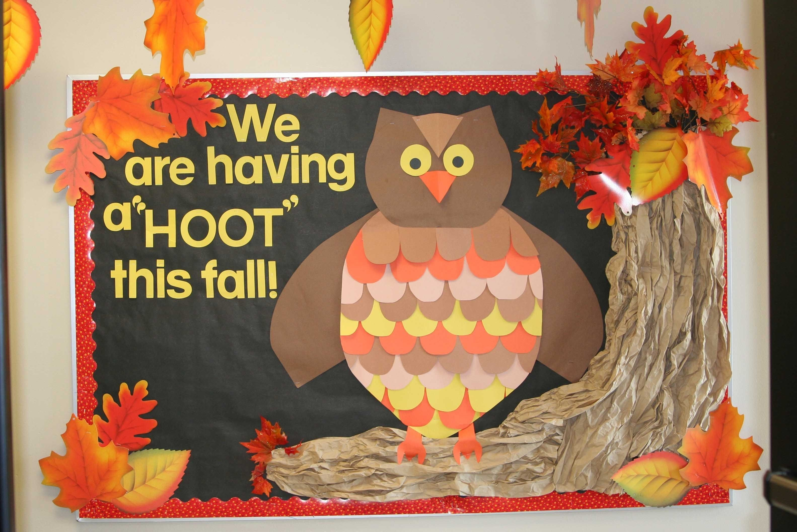 10 Unique Bulletin Board Ideas For Fall bulletin boards par mois babillard et ecole art