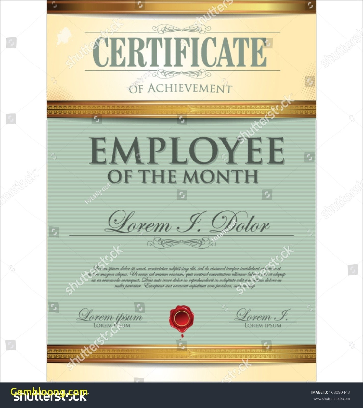 10 Awesome Employee Of The Month Ideas bunch ideas of free employee of the month certificate template with