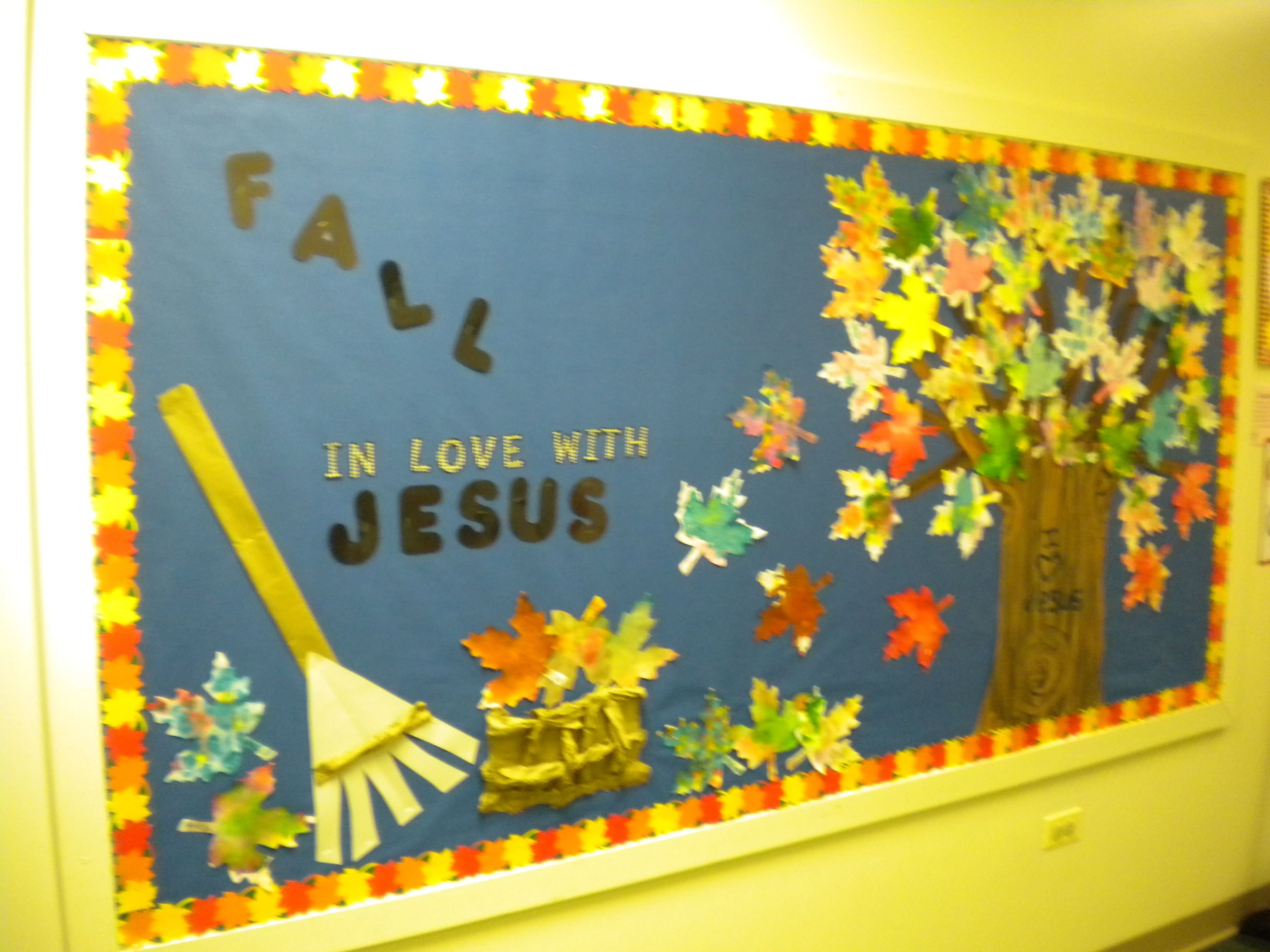 10 most recommended christian fall bulletin board ideas