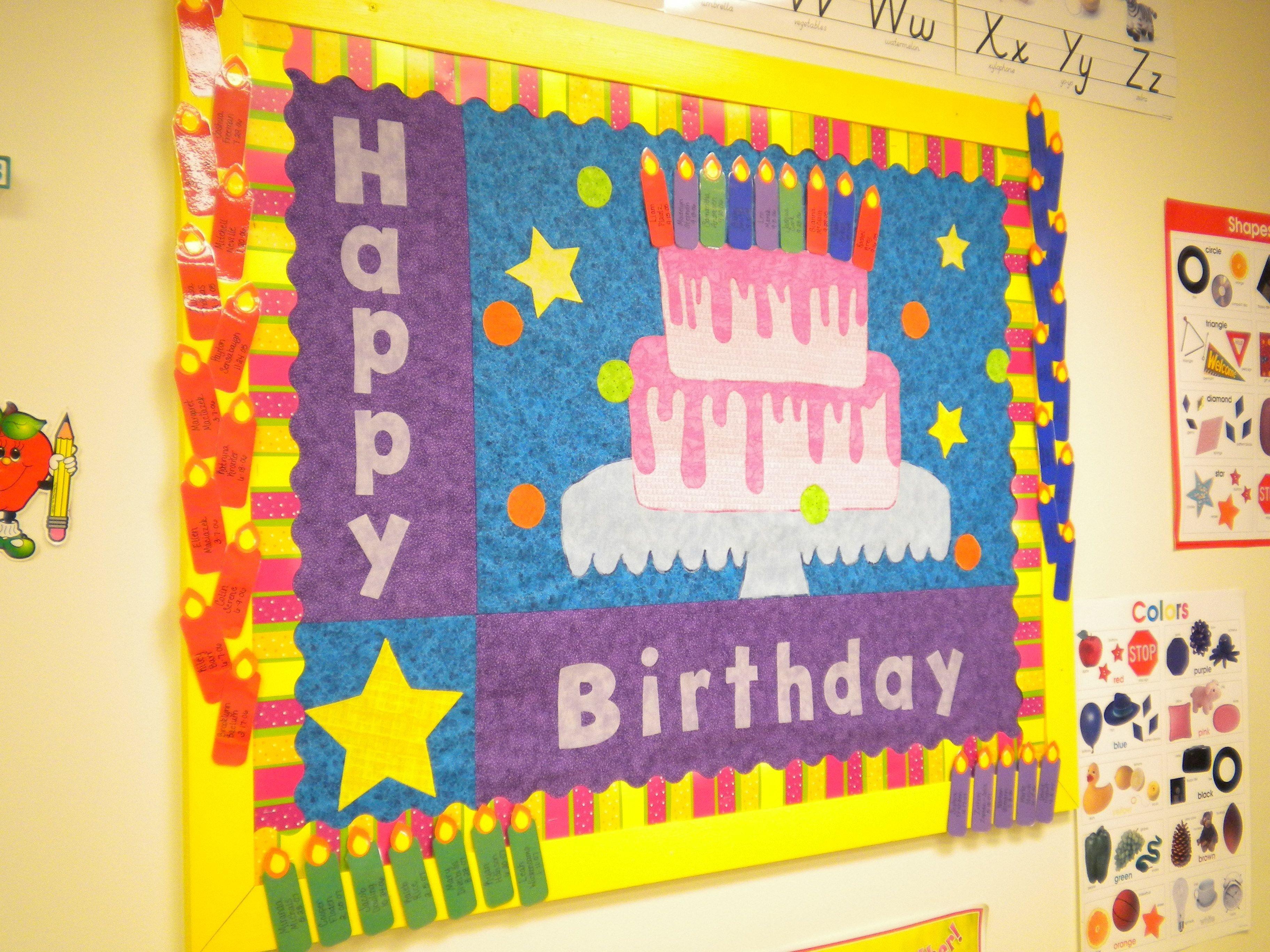 10 Wonderful Happy Birthday Bulletin Board Ideas bunches of bulletin boards preschool birthday bulletin board and 2020