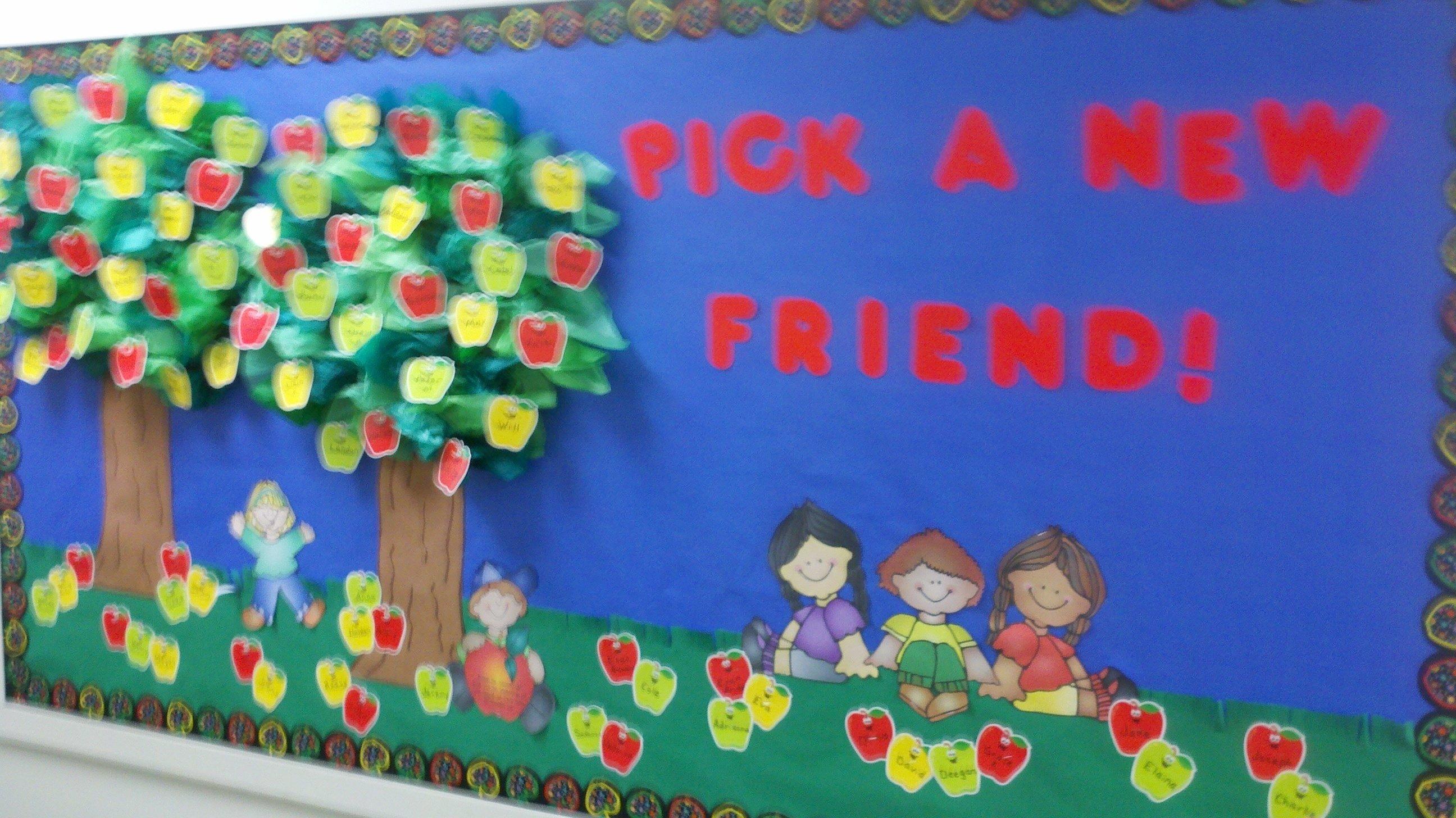 10 Fabulous Bulletin Board Ideas For September bunches of bulletin boards preschool playtime 1 2021