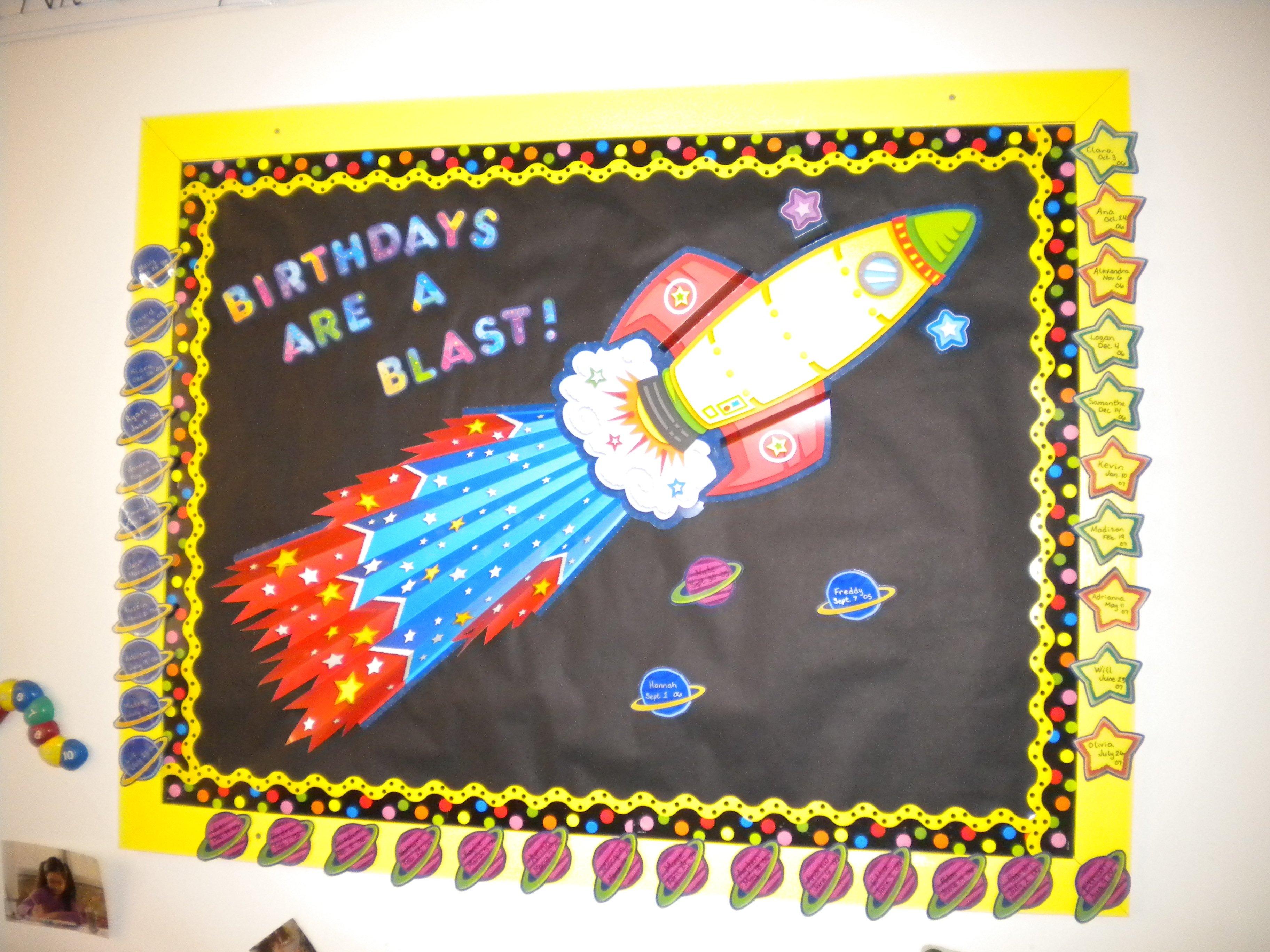 10 Wonderful Happy Birthday Bulletin Board Ideas bunches of bulletin boards preschool playtime 12 2020