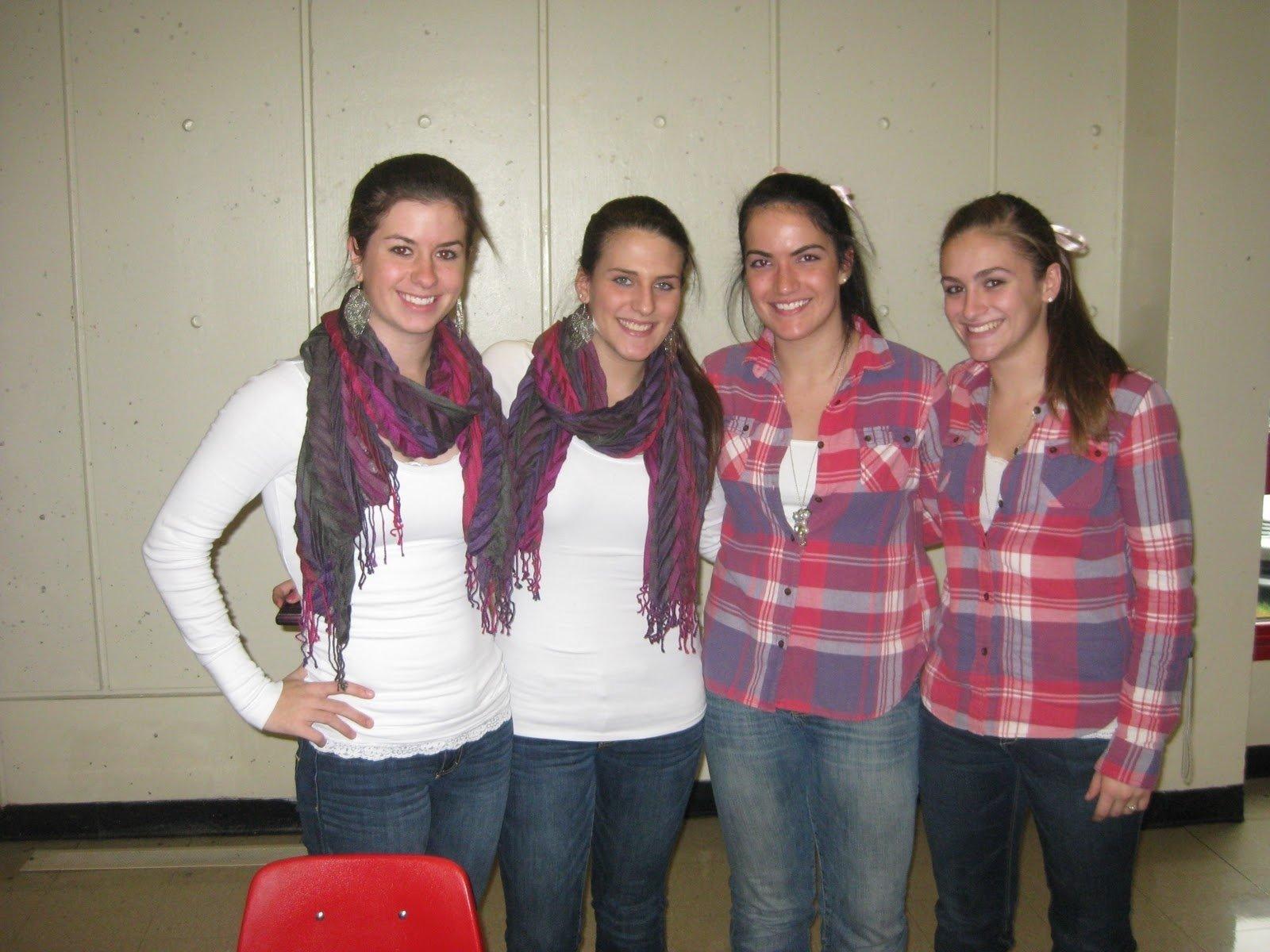 10 Elegant Cute Ideas For Twin Day burlington high school principals blog day one of spirit week 4 2020