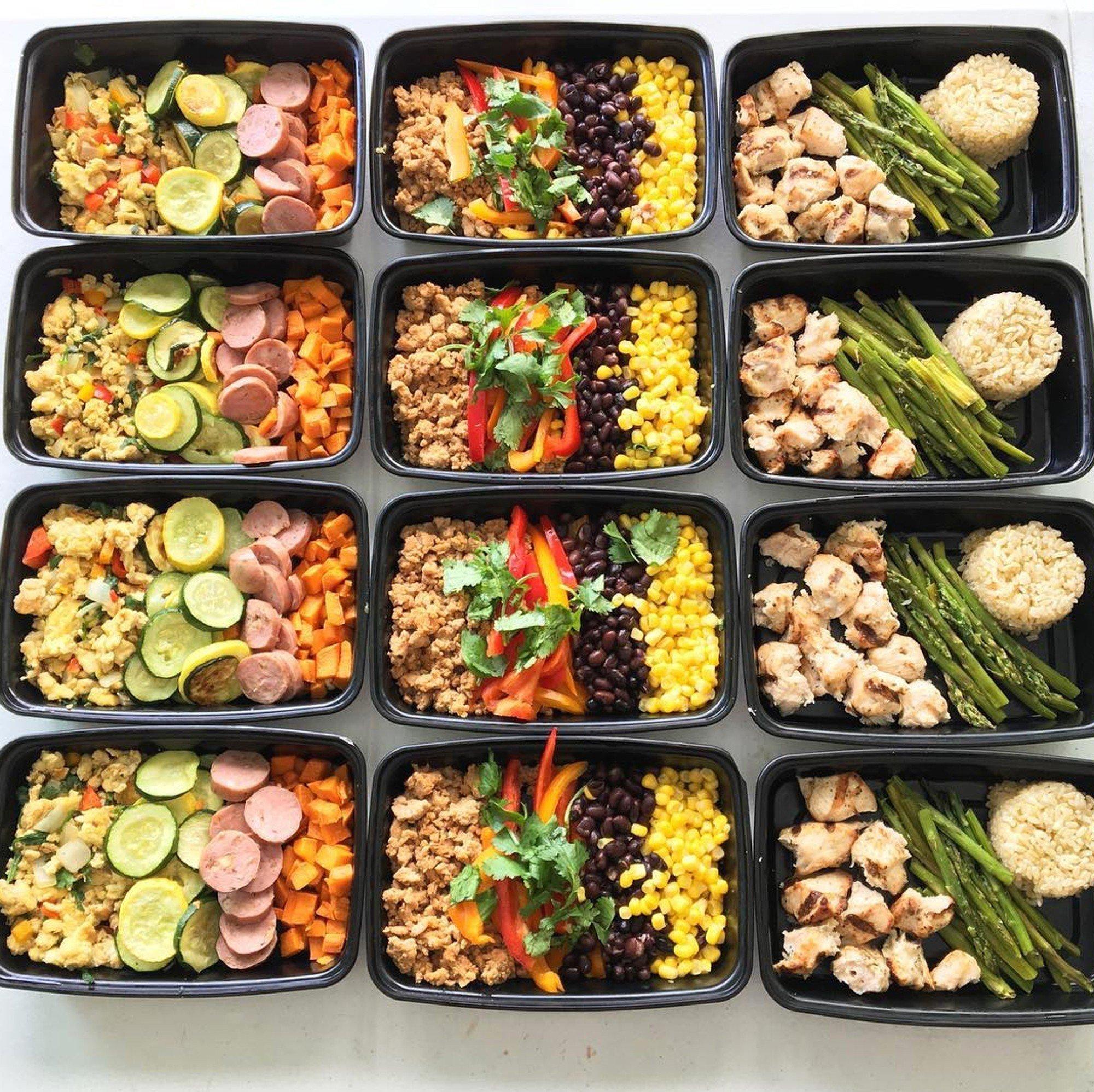 10 Pretty Clean Eating Meal Prep Ideas burrito bowl meal prep ideas popsugar fitness 2020