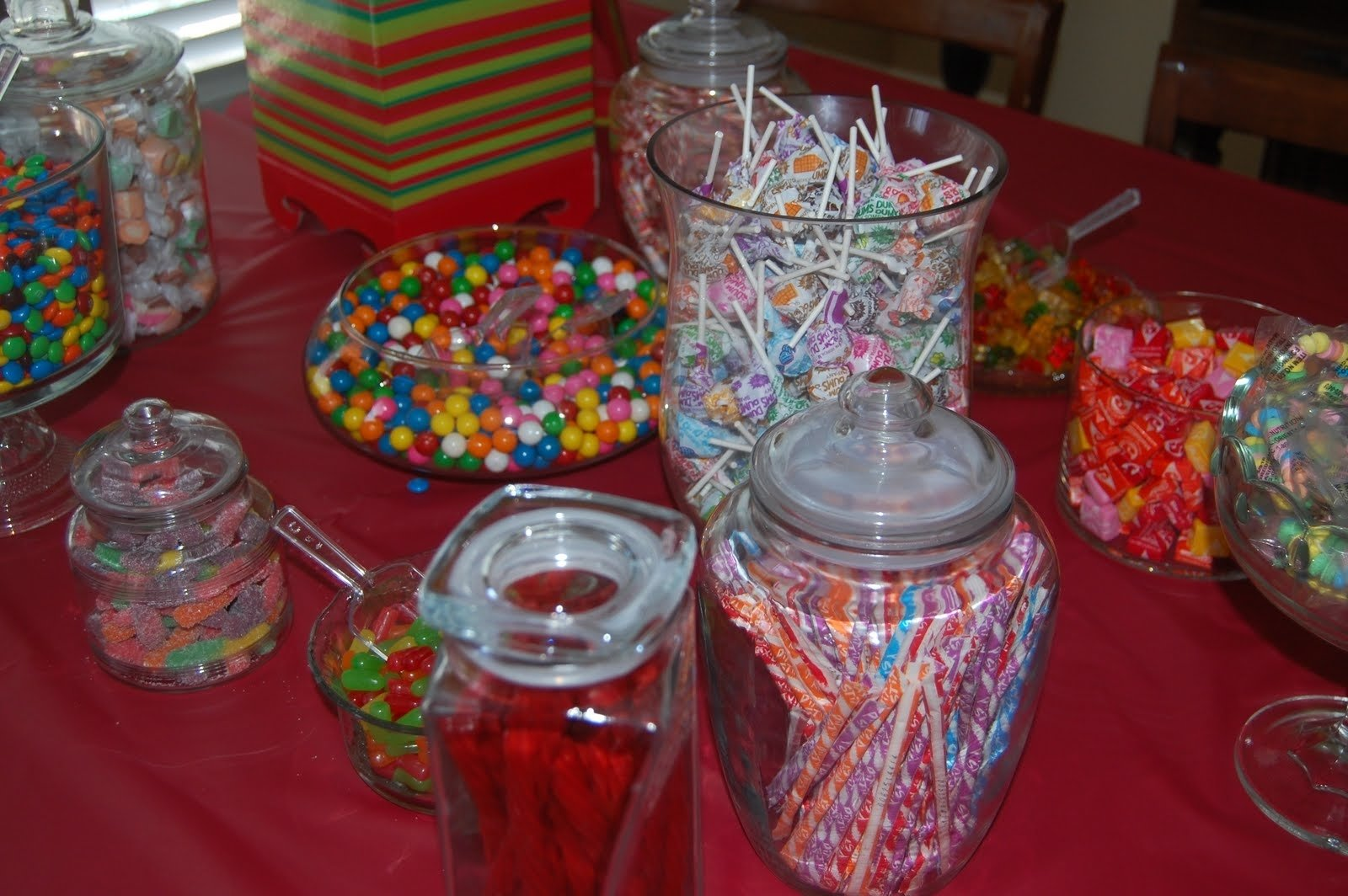 10 Ideal Candy Bar Ideas For Party bushel peck candy buffet birthday party home art decor 65481 1 2021