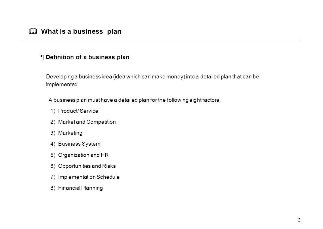 10 Unique What Is A Business Idea business plan examples sample good resume the example of pu condant