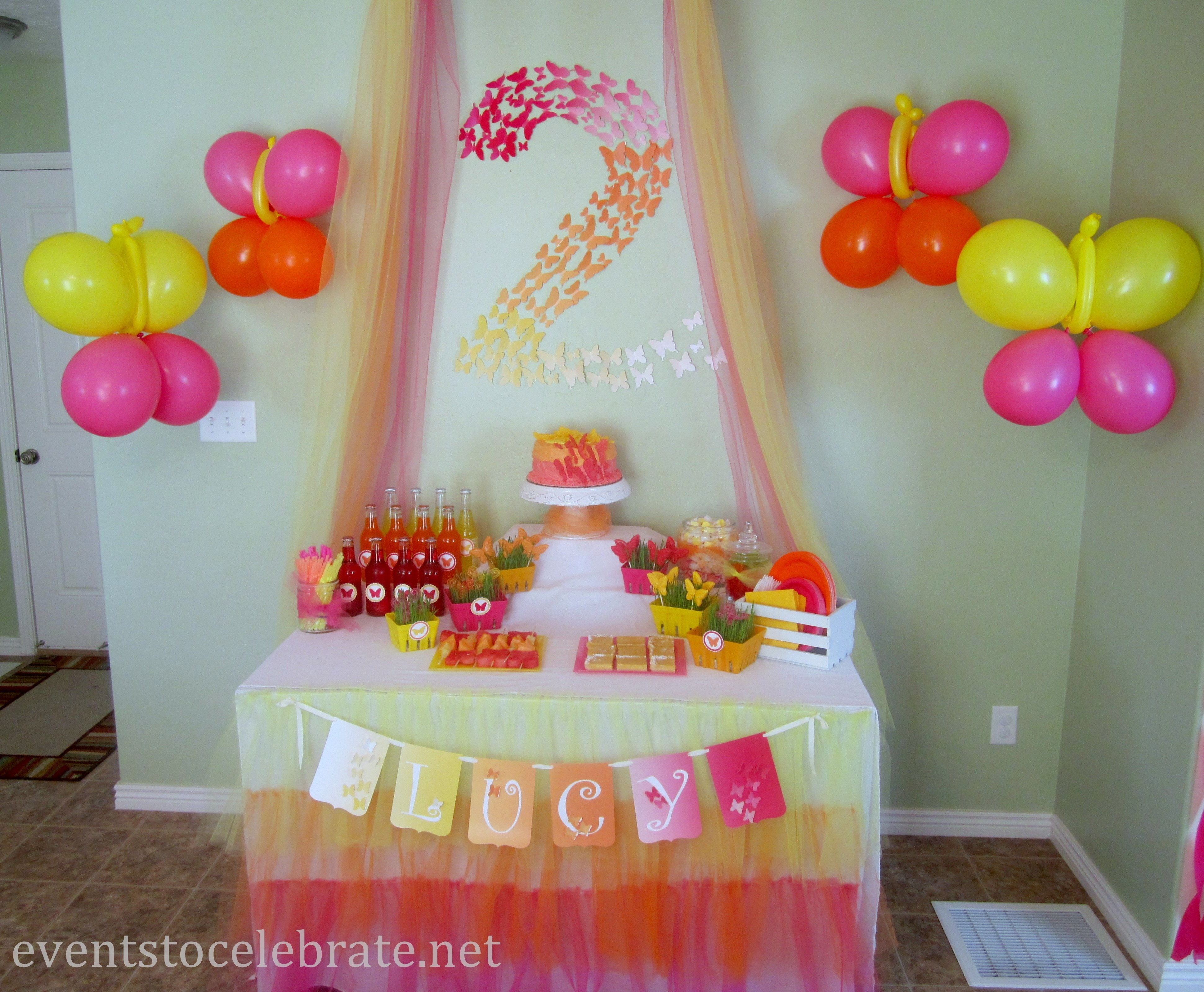 10 Spectacular Decoration Ideas For Birthday Party butterfly themed birthday party decorations events to celebrate 2020