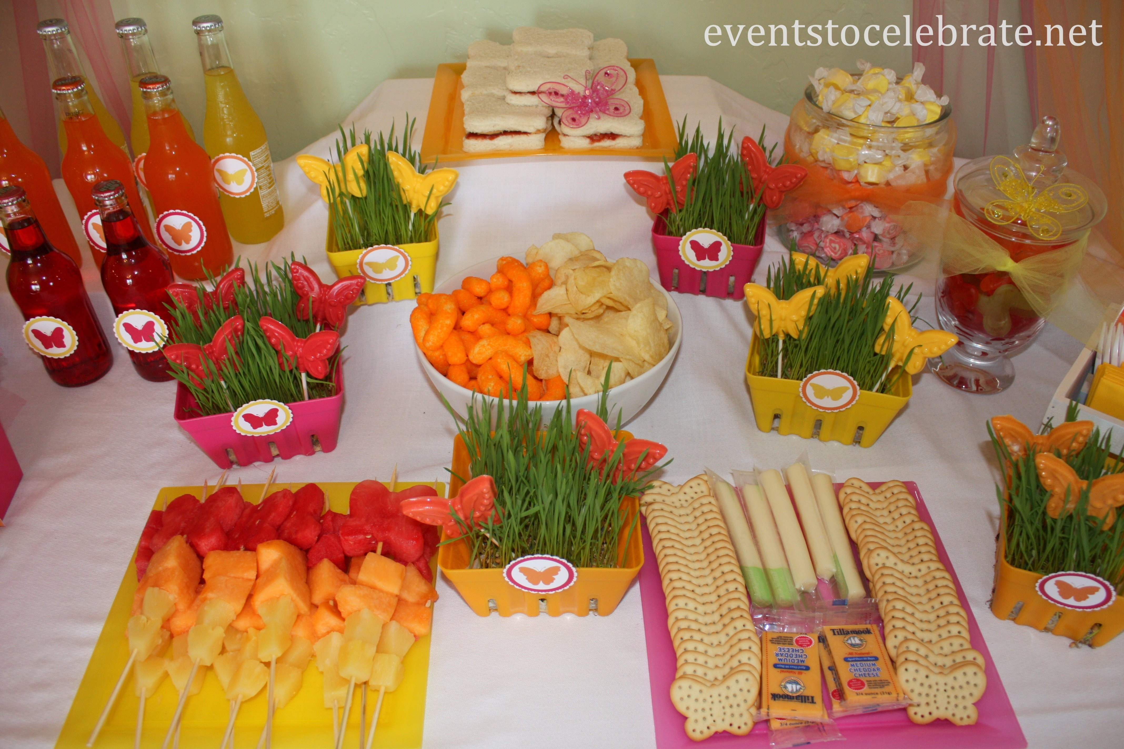 10 Beautiful Kid Birthday Party Food Ideas butterfly themed birthday party food desserts events to celebrate 2020