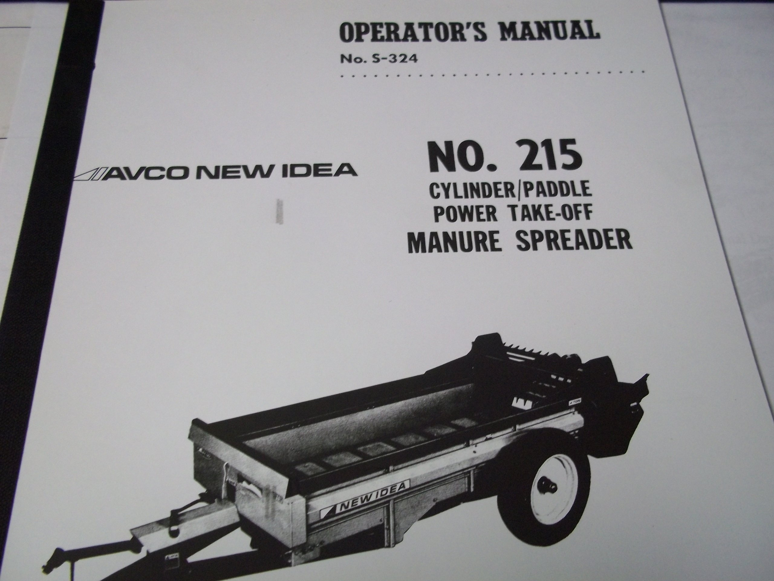 buy new idea 11 manure spreader parts manual in cheap price on