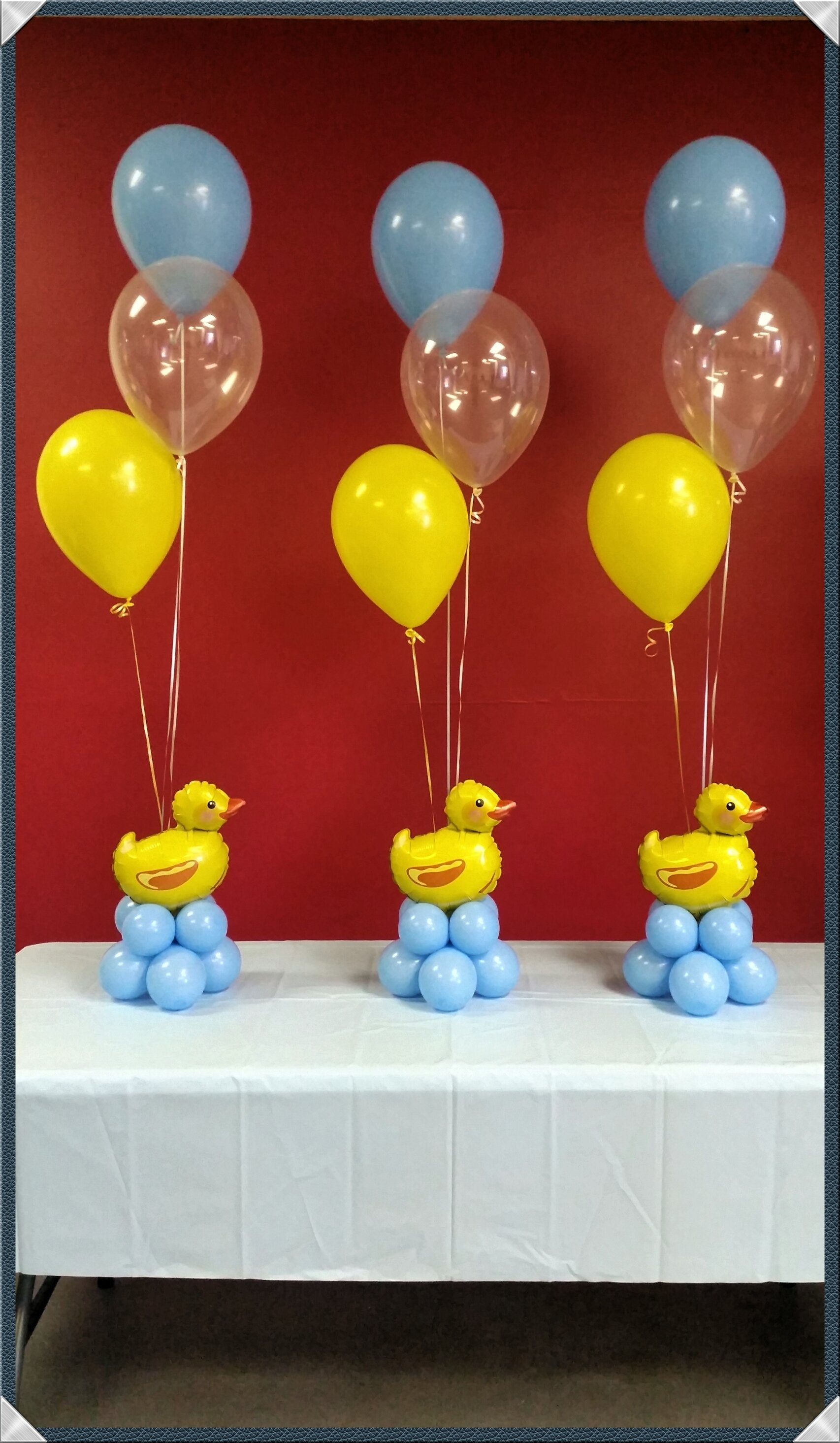 10 Stylish Rubber Ducky Baby Shower Ideas by rosielloons baby shower duckies pinterest babies 1
