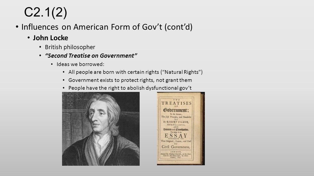 10 Cute John Locke Ideas On Government c2 12 influences on american form of govt contd john locke 2020