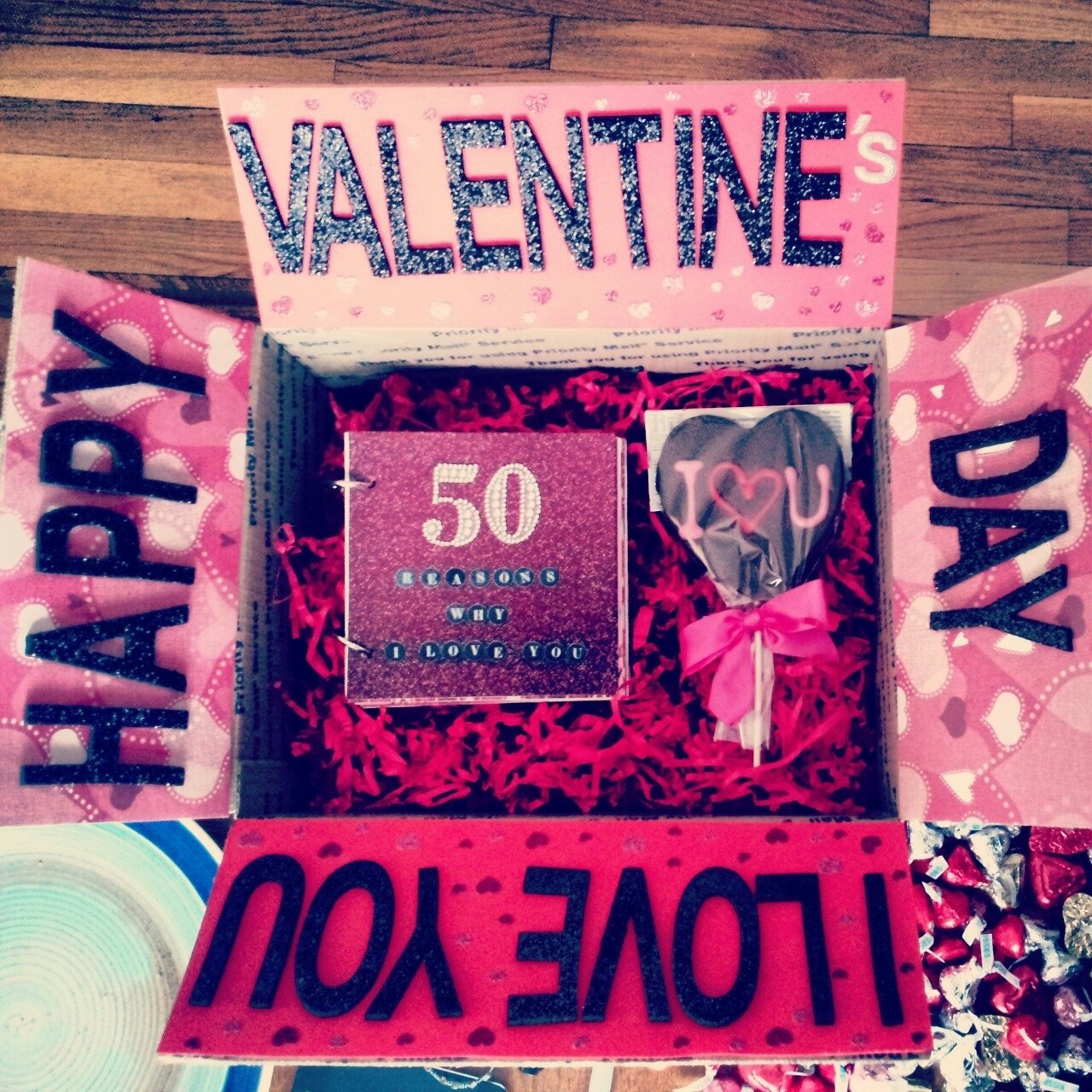 10 Lovable Unique Valentines Day Ideas For Him caixa de presente ideias bonitas pinterest doors box and gift 4