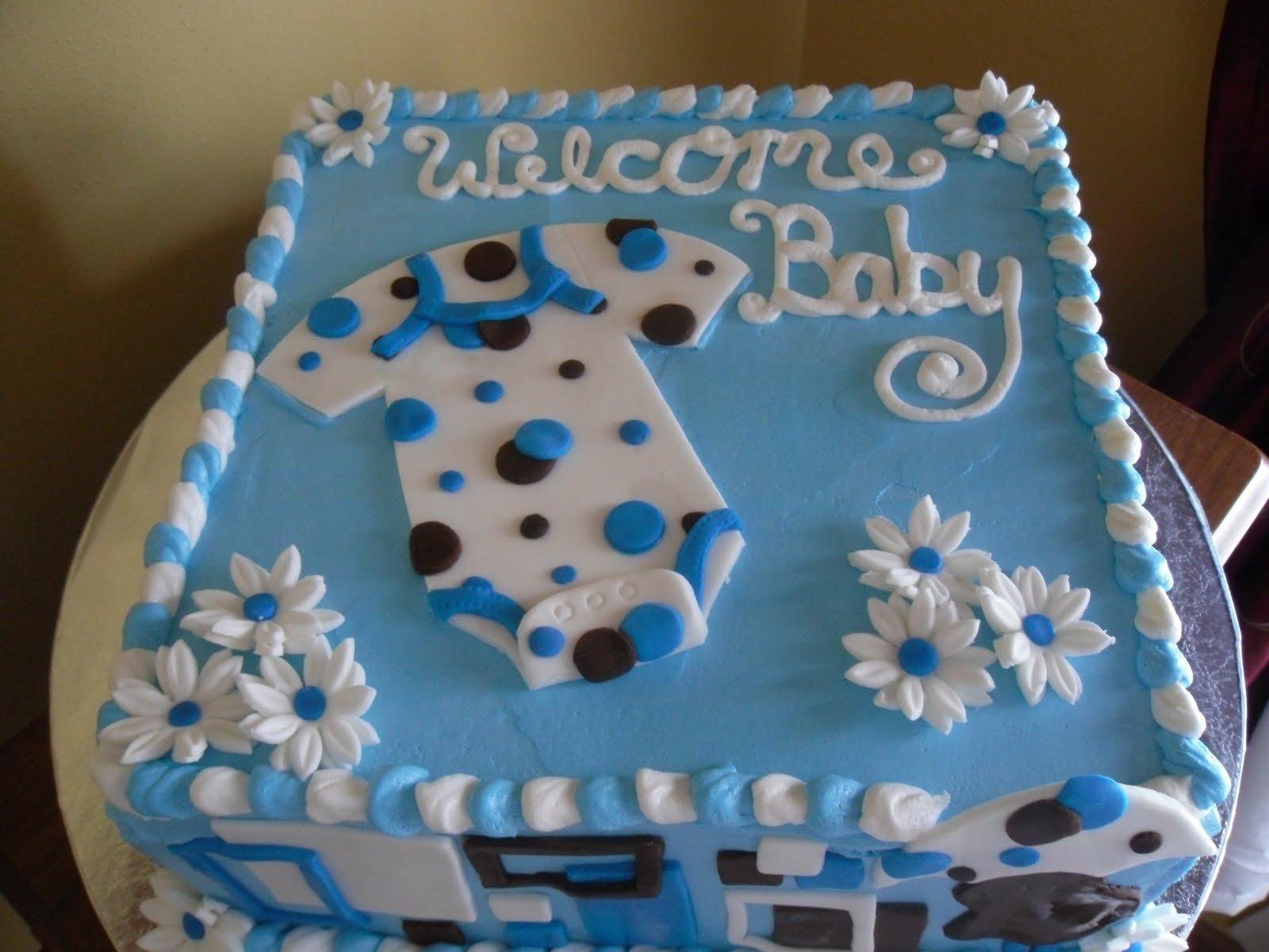 10 Spectacular Baby Shower Cake Decorating Ideas cake decorating ideas for baby boy shower e280a2 baby showers design 2020