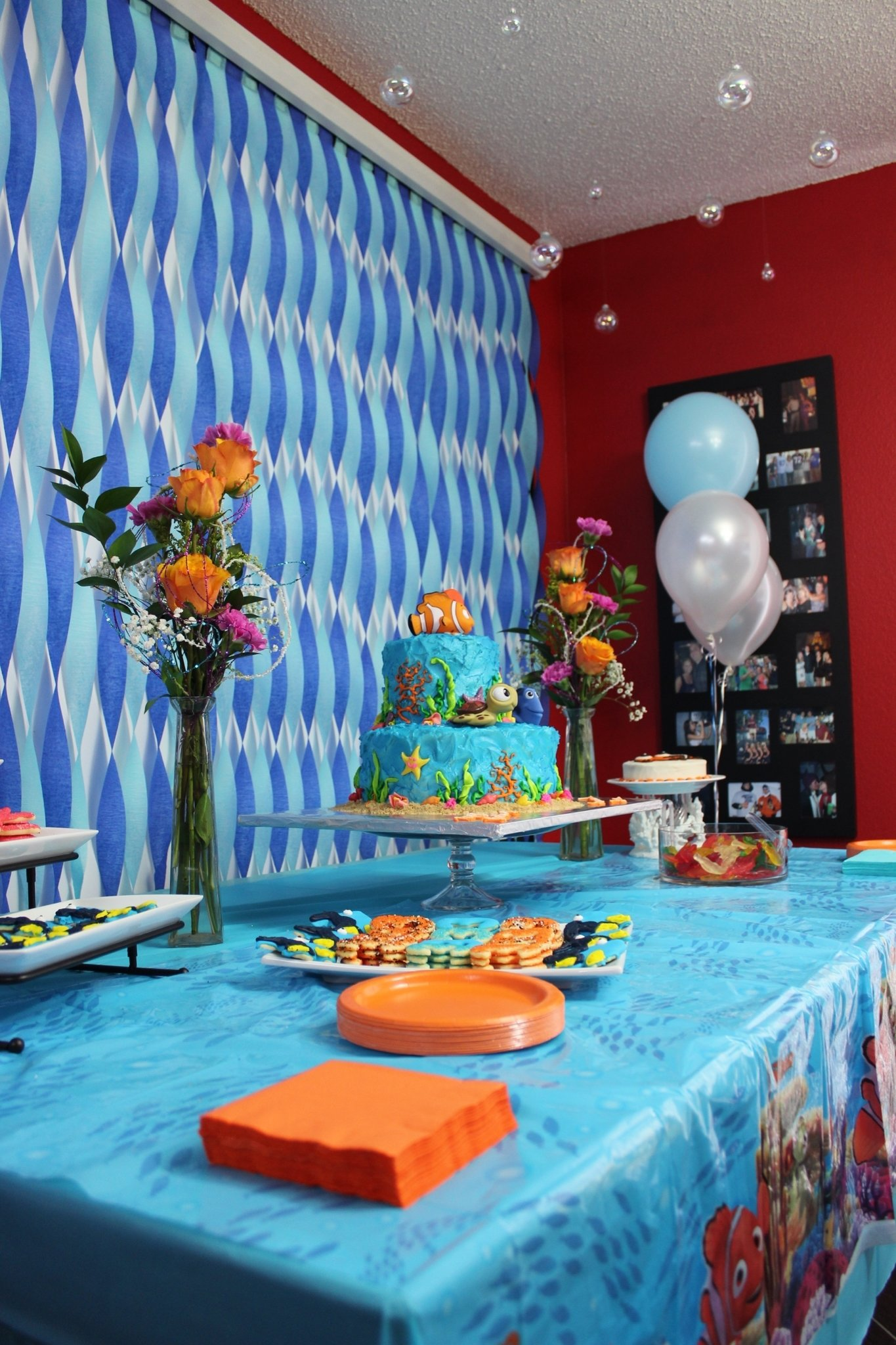 10 Stylish Finding Nemo Birthday Party Ideas cake dessert table decorations finding nemo theme party finding 2020