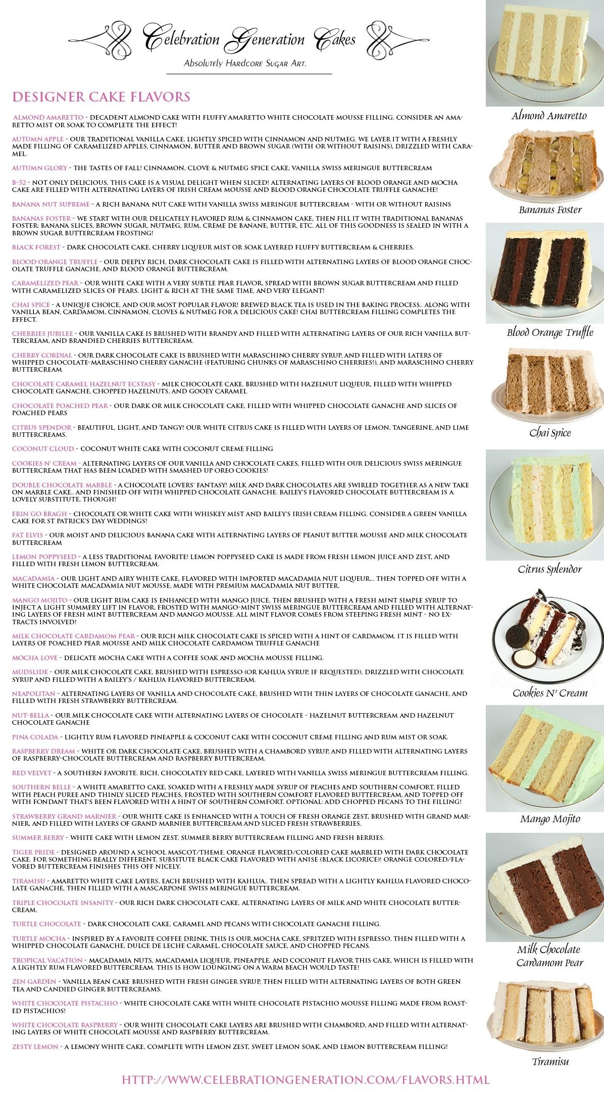 cake flavours and awesome ideas for cakes | cakes | pinterest | cake