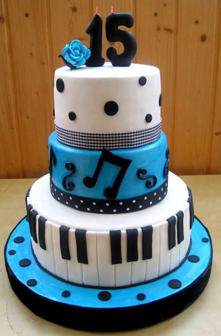 10 Unique 15 Year Old Birthday Ideas Cake For Boy 1000
