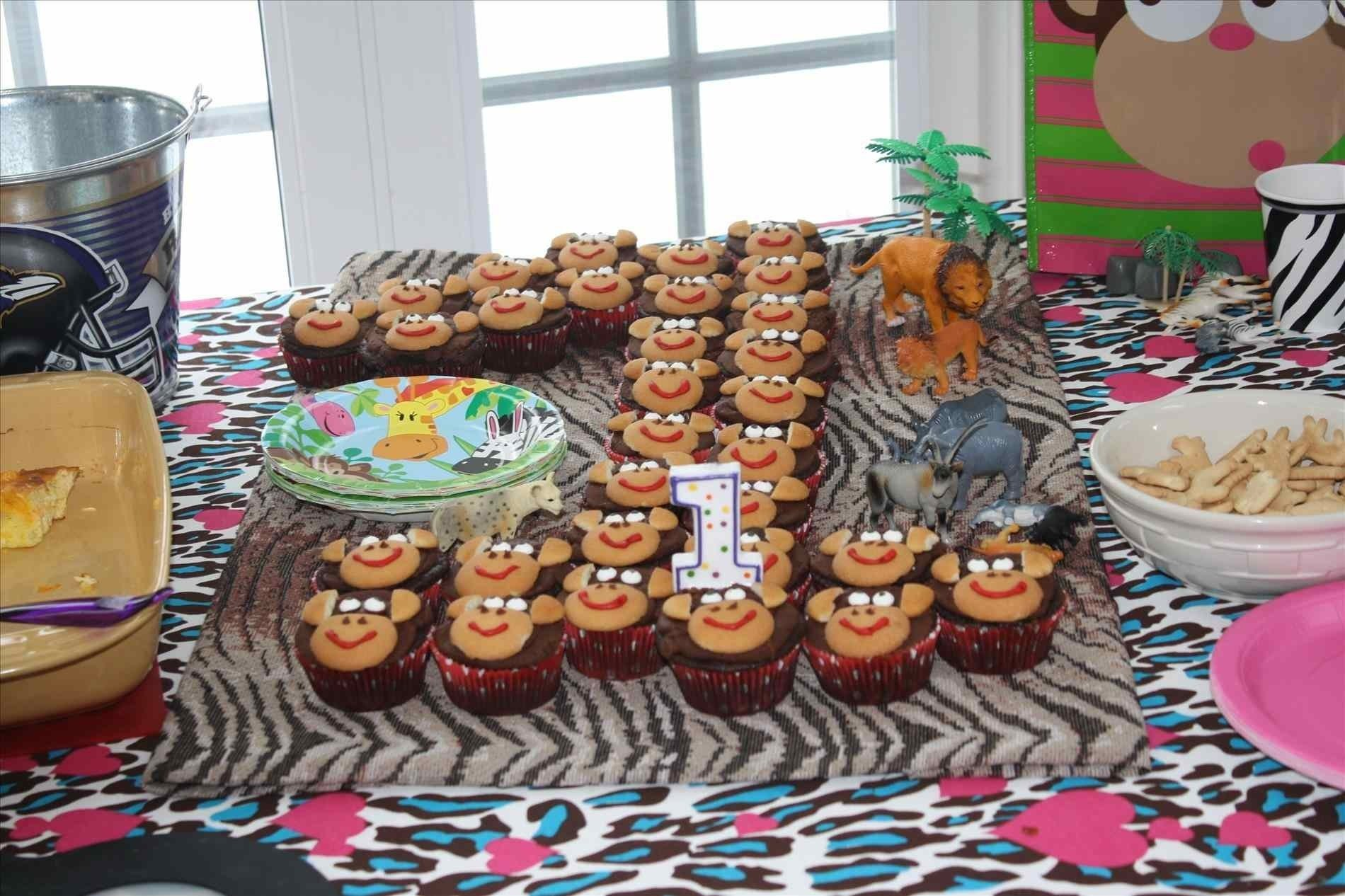 10 Ideal Birthday Party Ideas For 1 Year Old Boy Cake Jocakes Jungle Themes