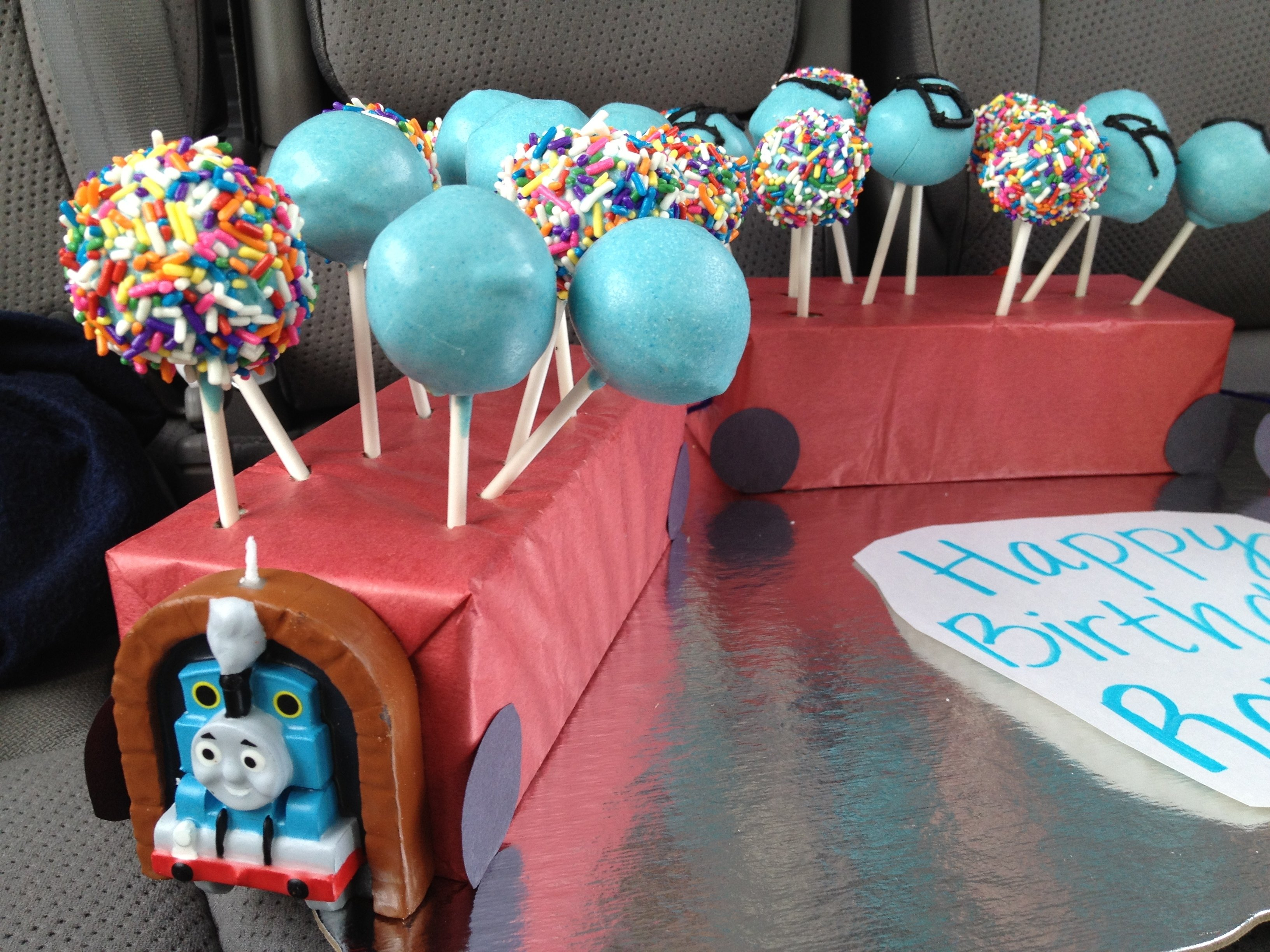 cake pops for 4 year-old boy's birthday | favorite recipes
