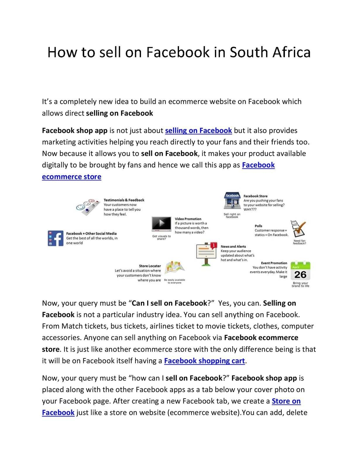 10 Gorgeous How To Sell An App Idea calameo how to sell on facebook in south africa 2020