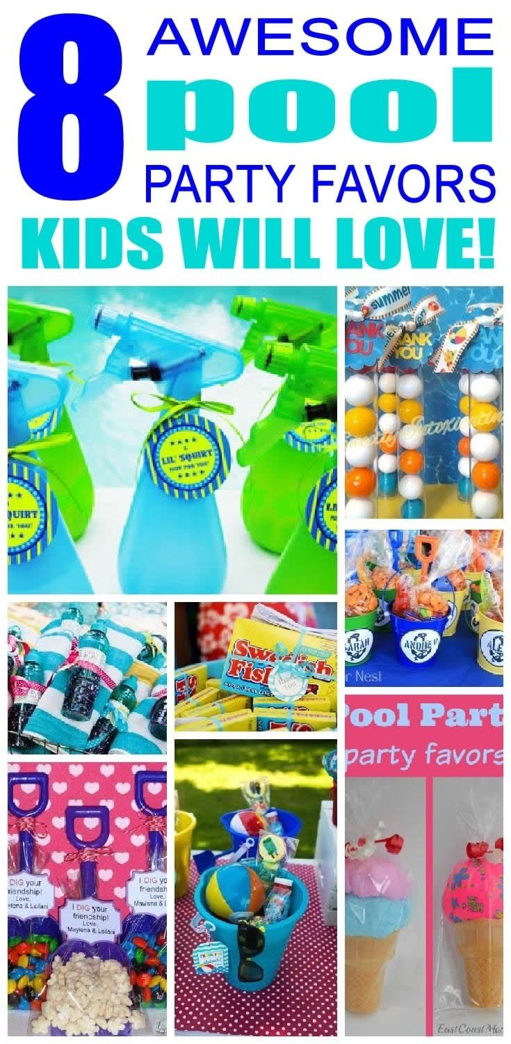 10 Unique Pool Party Gift Bag Ideas calm goodie bag ideas for kids birthday parties 24 alongs kids stuff