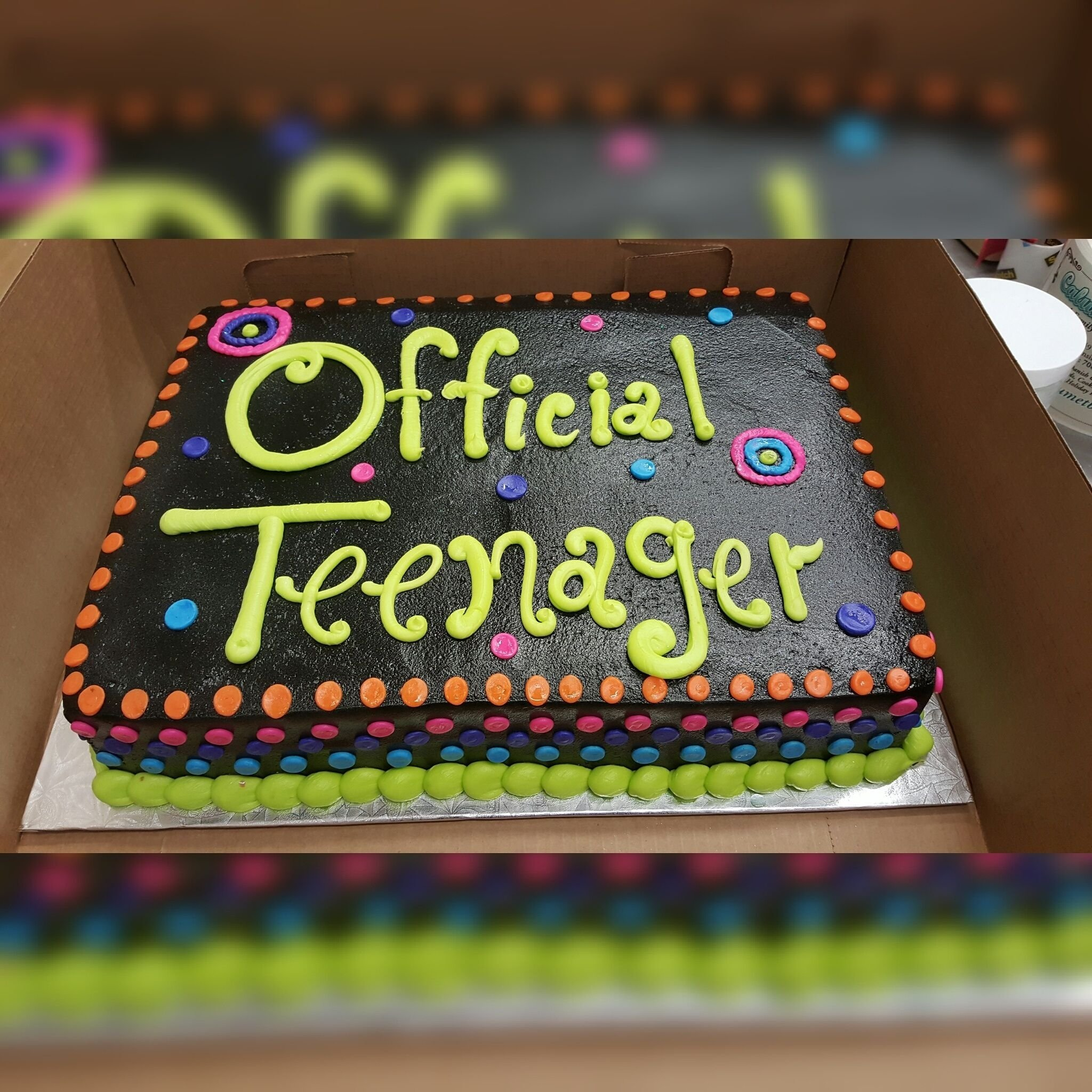 10 Awesome 13 Yr Old Birthday Party Ideas calumet bakery official teenager cake milestone birthday cakes 1 2020