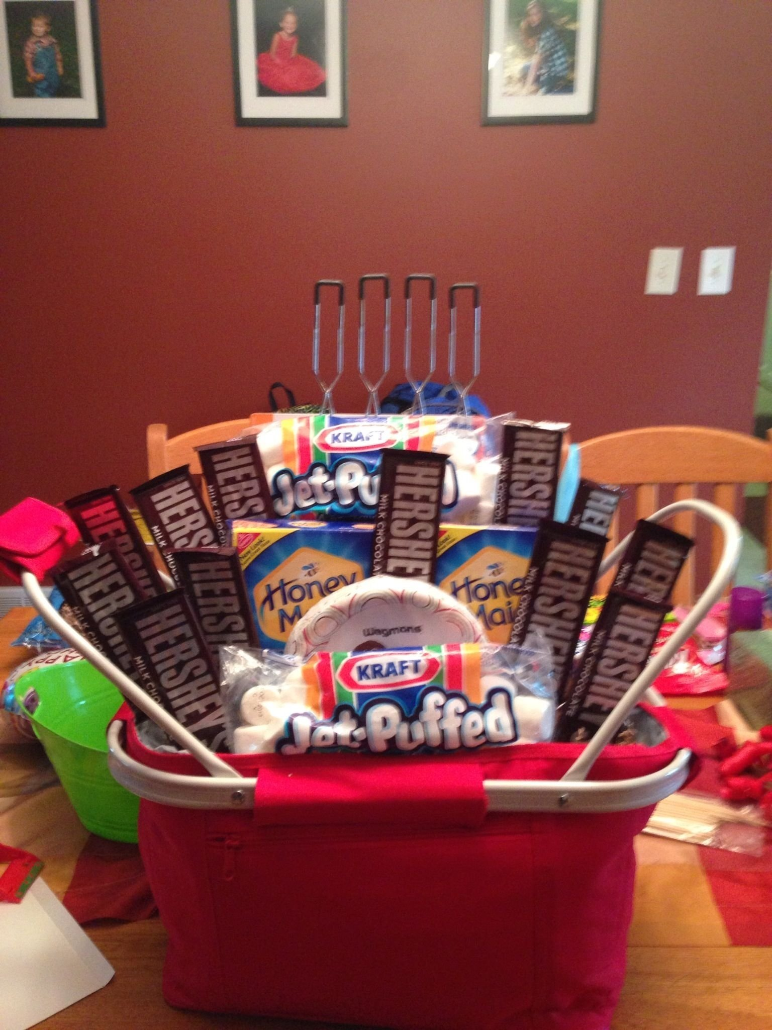 10 Best Ideas For Gift Baskets For Fundraisers campfire basket my baskets pinterest campfires basket ideas 2021