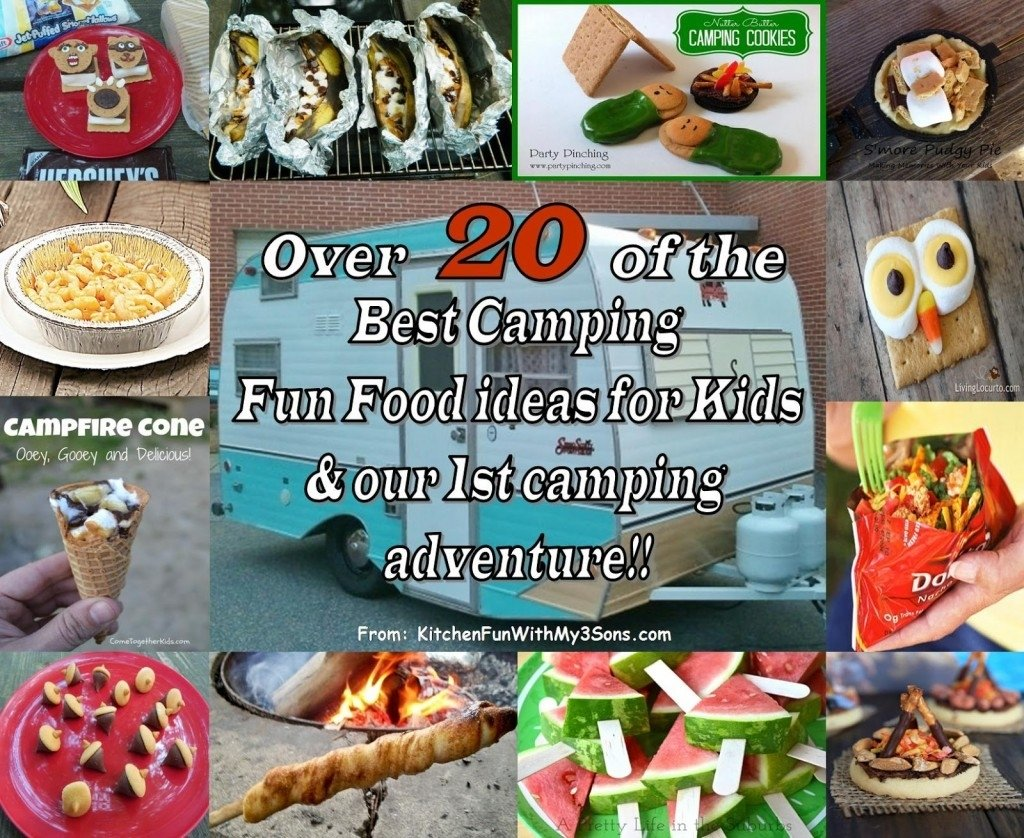 10 Unique Camping Food Ideas For Kids camping fun food craft ideas for kids and our mckinney camping