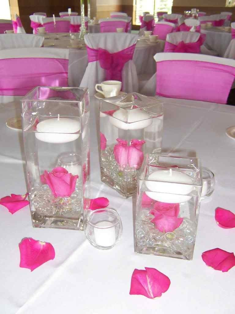 10 Fashionable Wedding Centerpiece Ideas Without Flowers candle centerpieces for weddings wedding candle centerpiece ideas 2020