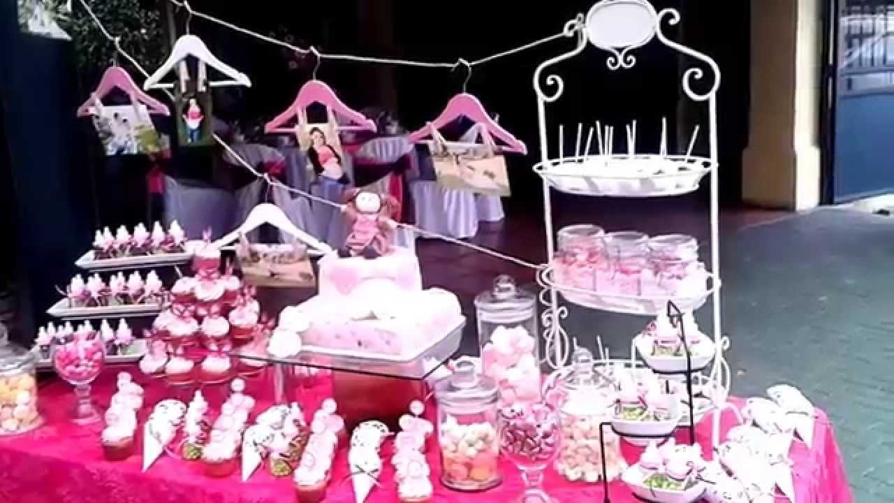 10 Attractive Candy Bar Ideas For Baby Shower candy bar baby shower cartago le fontie youtube 2020