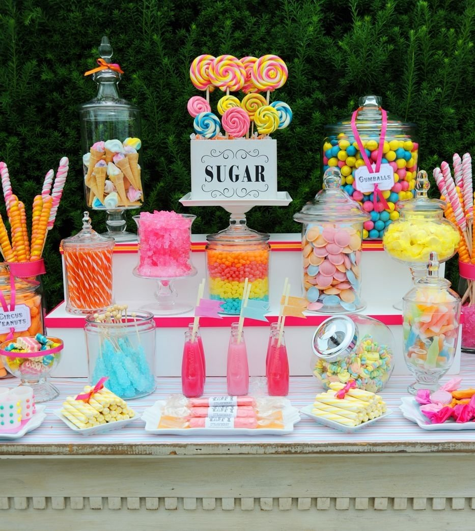candy bar: el corner más dulce de una boda | wedding candy table