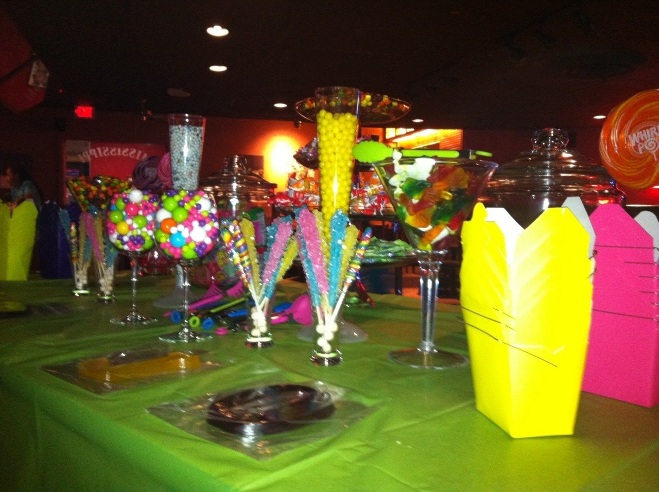 candy bar for 13 year old birthday party | party ideas | pinterest