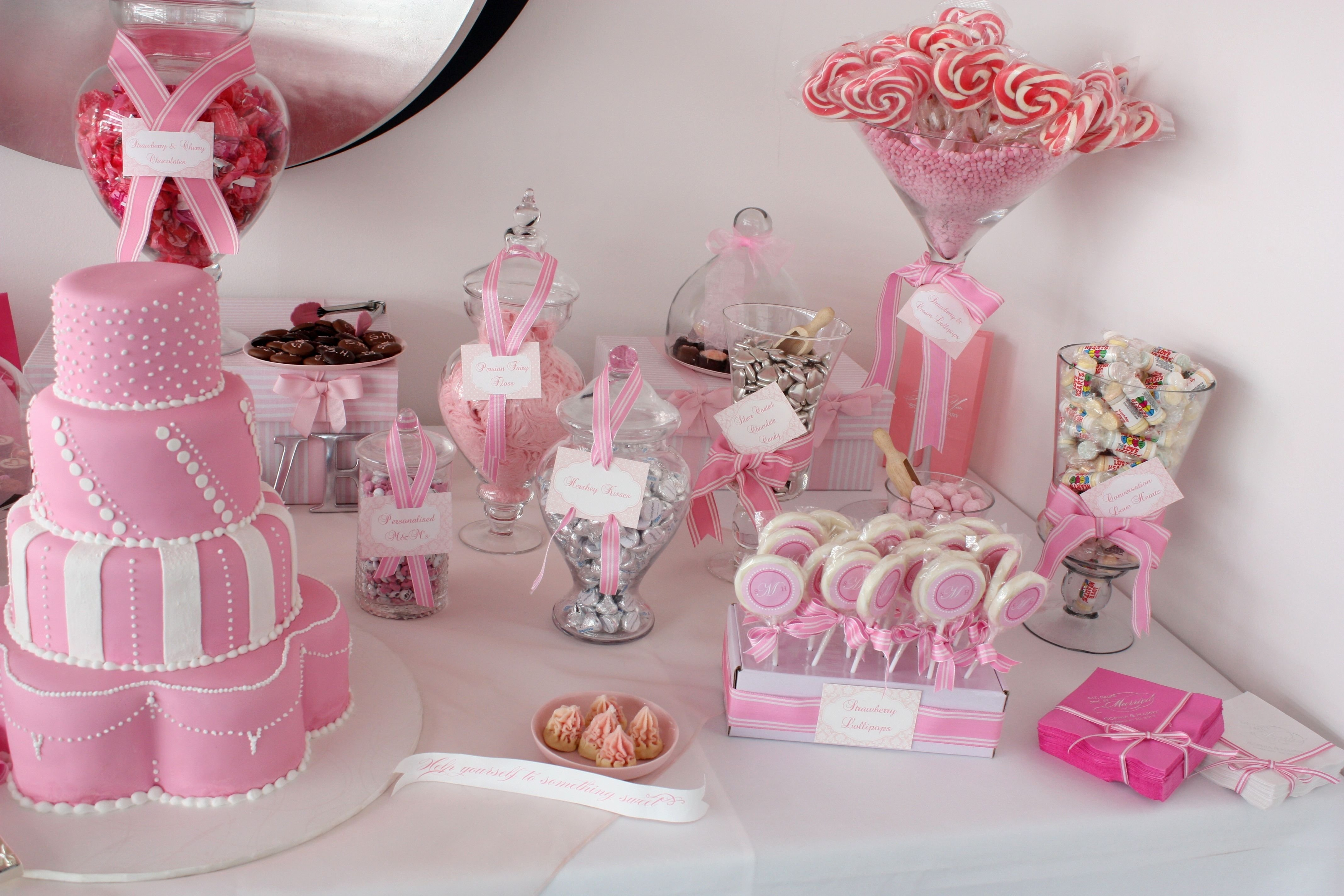 10 Attractive Candy Bar Ideas For Baby Shower candy bar ideas baby shower decor decorating of party 2020