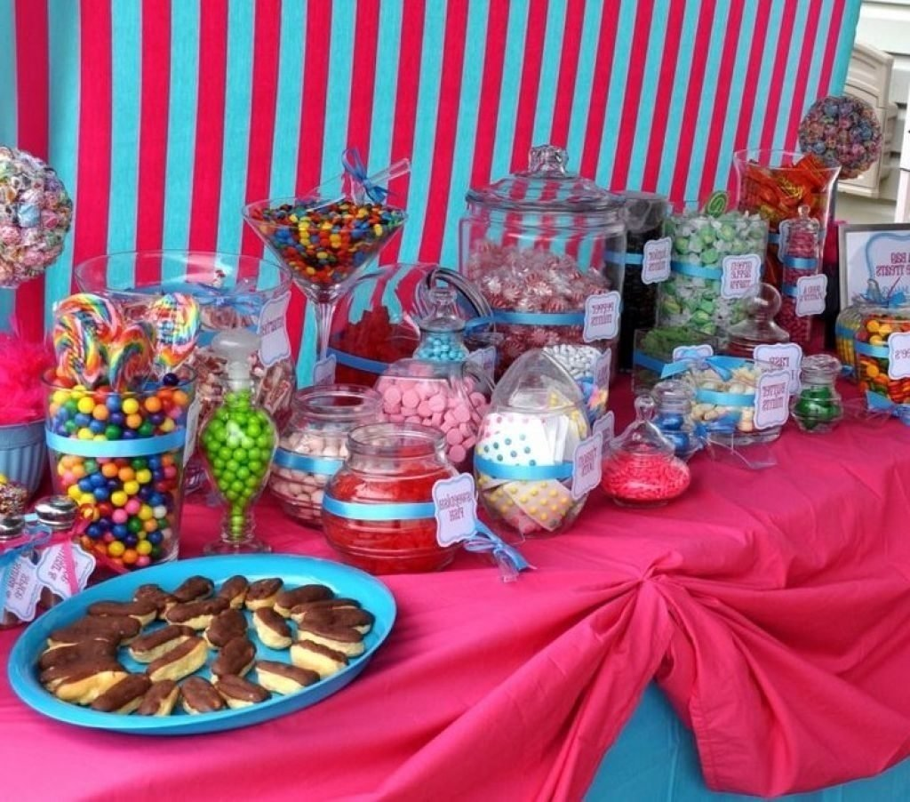 10 Ideal Candy Bar Ideas For Party candy bar ideas for birthday party birthday decoration furniture 1 2020