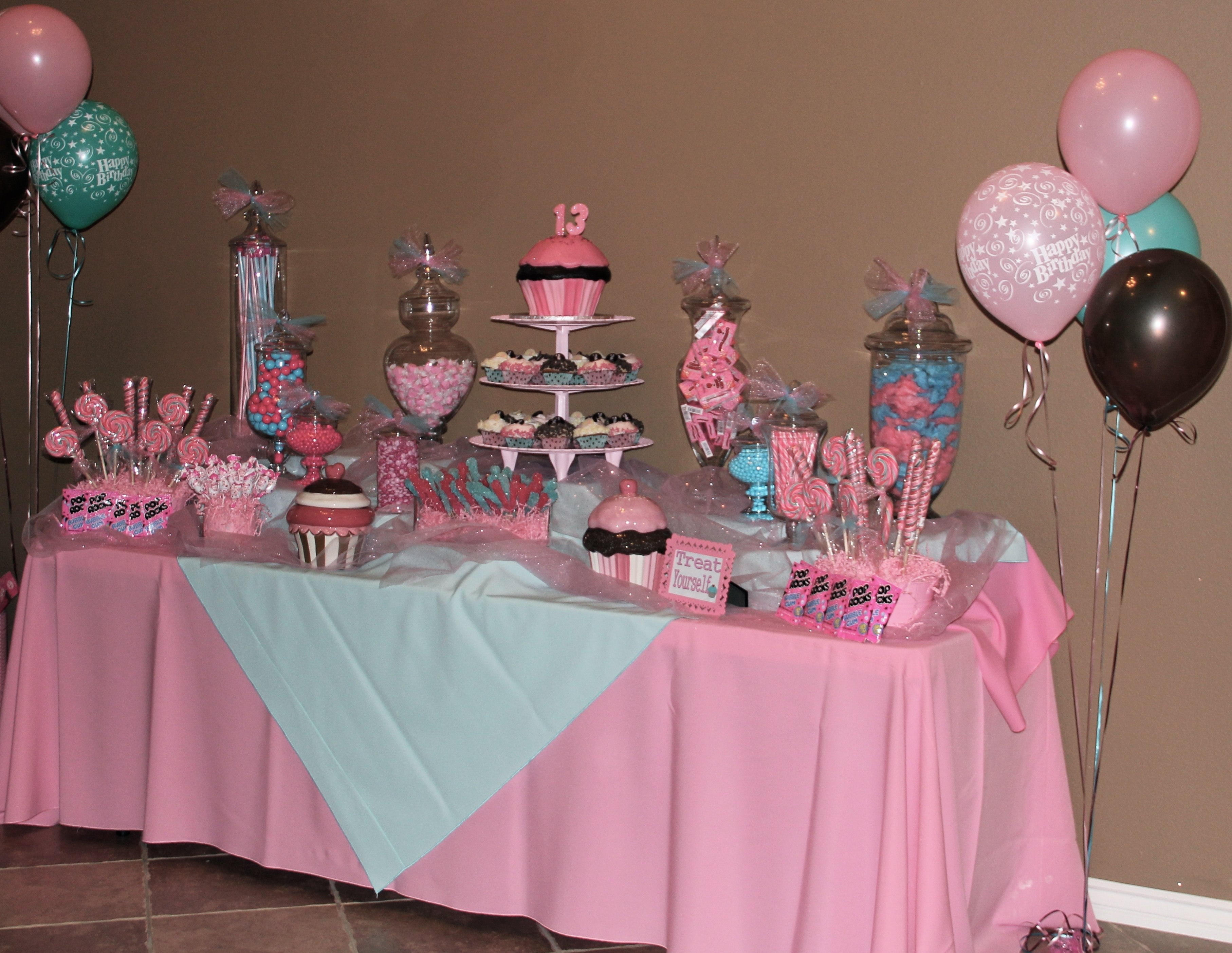 10 Lovely 13Th Girl Birthday Party Ideas candy bar tays 13th birthday e29da4 cute party stuff e29da4 pinterest 2021