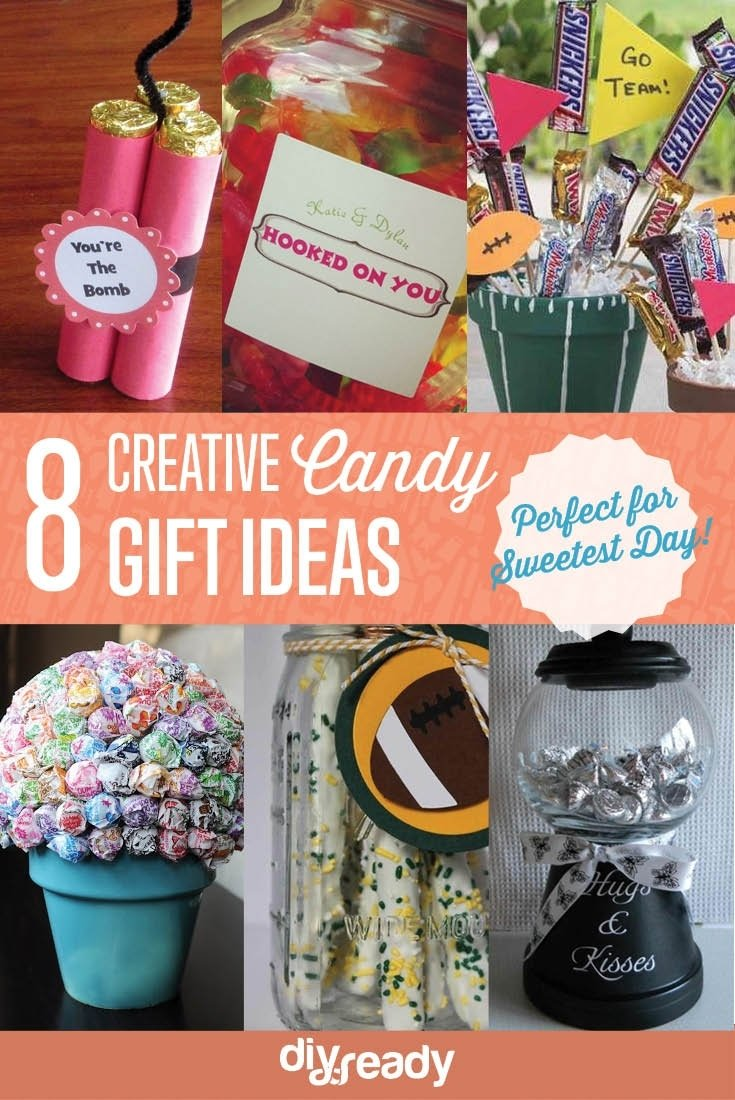10 Cute Sweetest Day Gift Ideas For Him candy gift ideas diy projects craft ideas how tos for home decor 2 2020