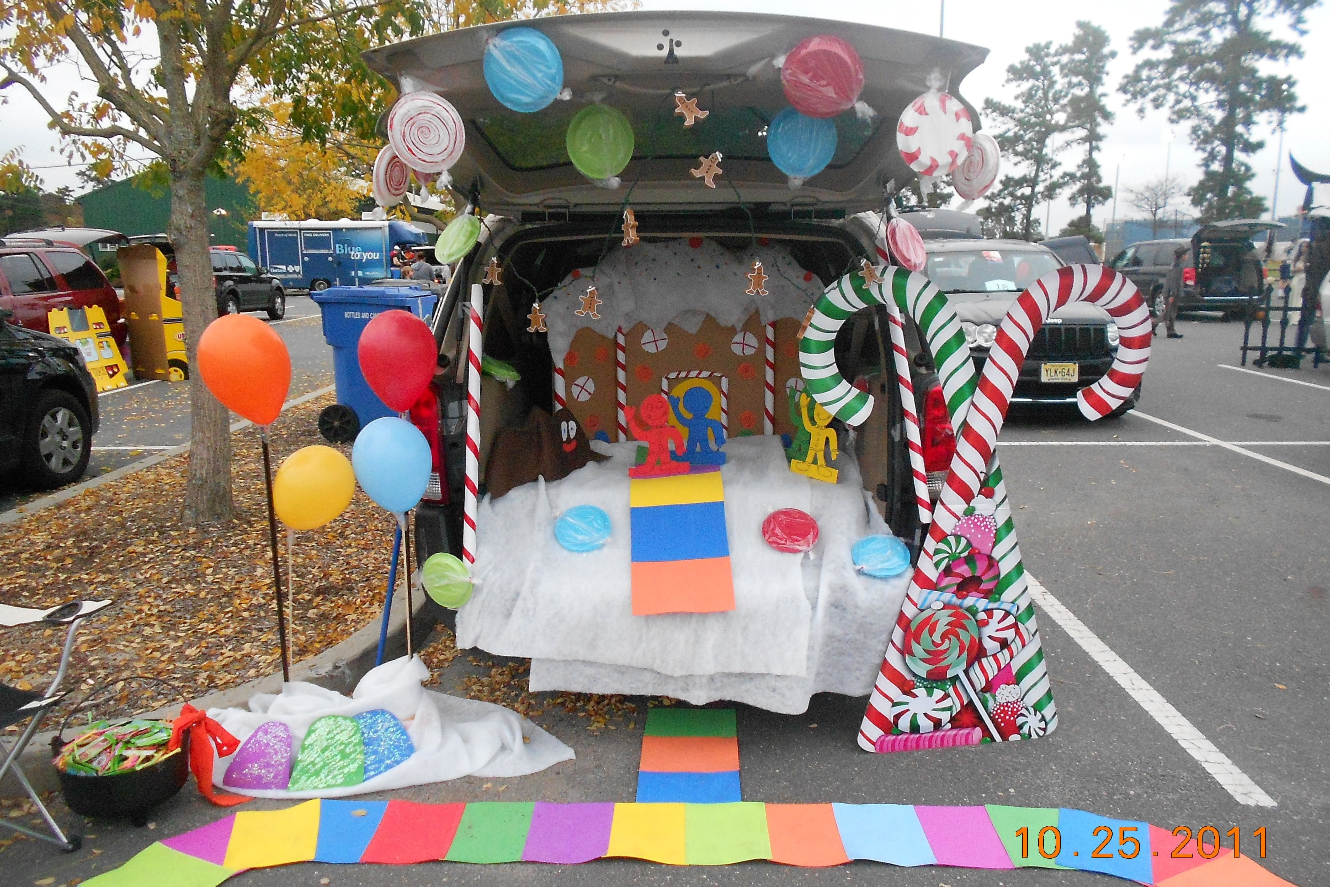 10 Attractive Trunk Or Treat Decorating Ideas For Church candy land trunk or treat idea i did last year trunk or treat 7 2020