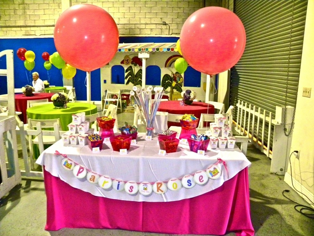 10 Fashionable Bounce House Birthday Party Ideas candy station bounce house themed birthday miami party with regard 2021