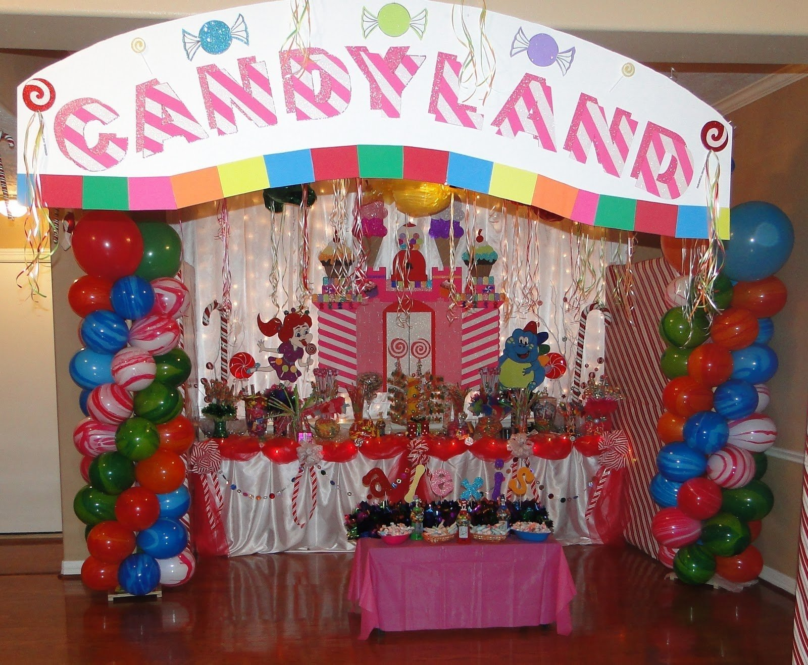 10 Famous Candy Themed Birthday Party Ideas candyland birthday party all in home decor ideas candyland party