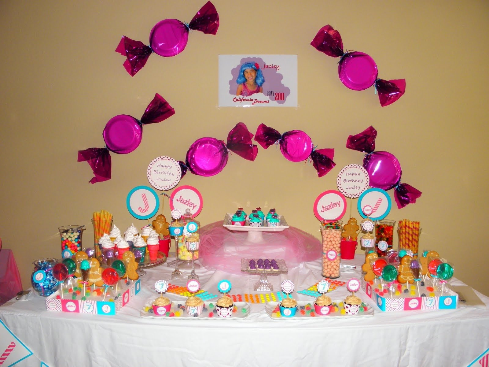 candyland themed birthday party activities — criolla brithday