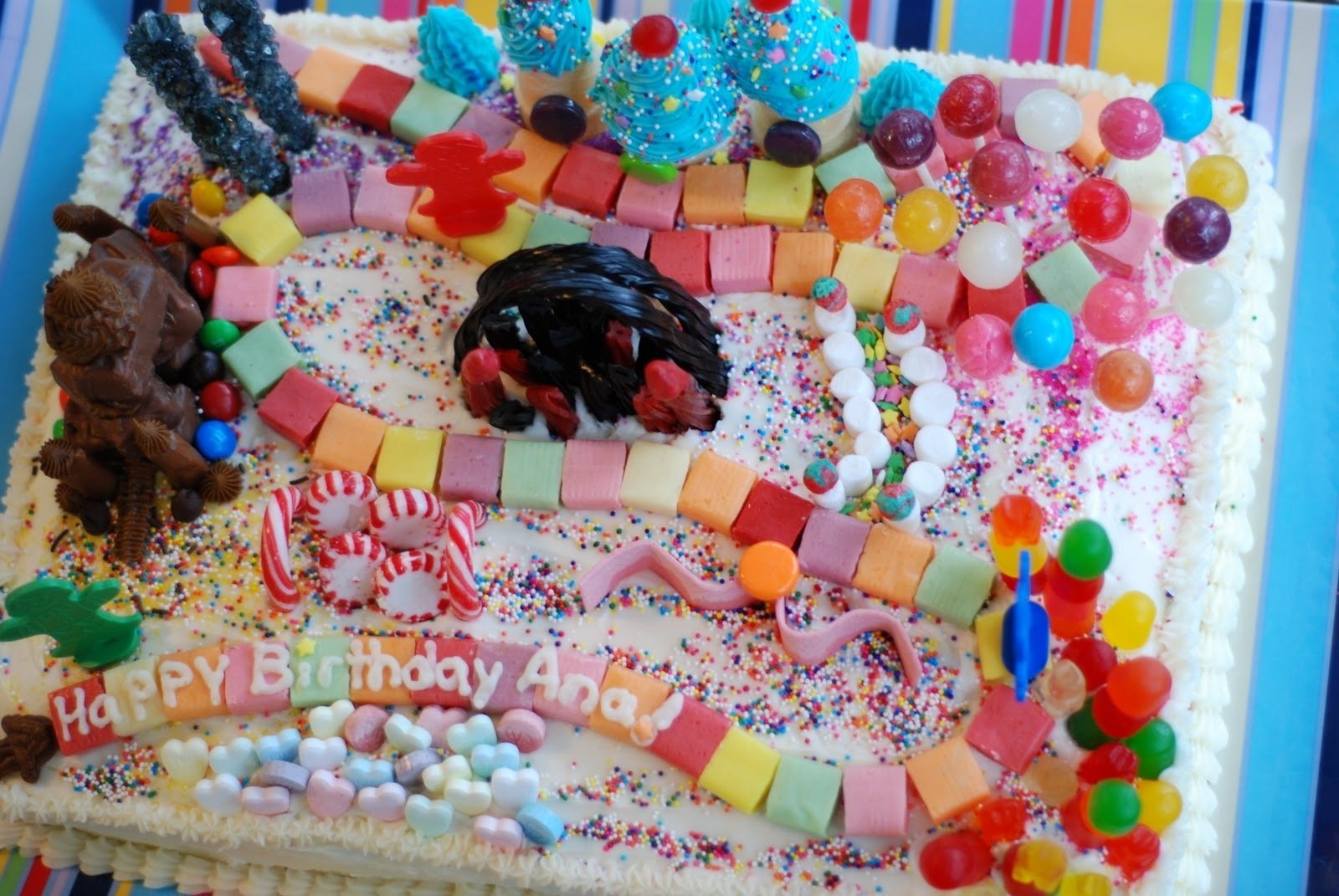 10 Famous Candy Themed Birthday Party Ideas candyland themed birthday party decorations candyland birthday
