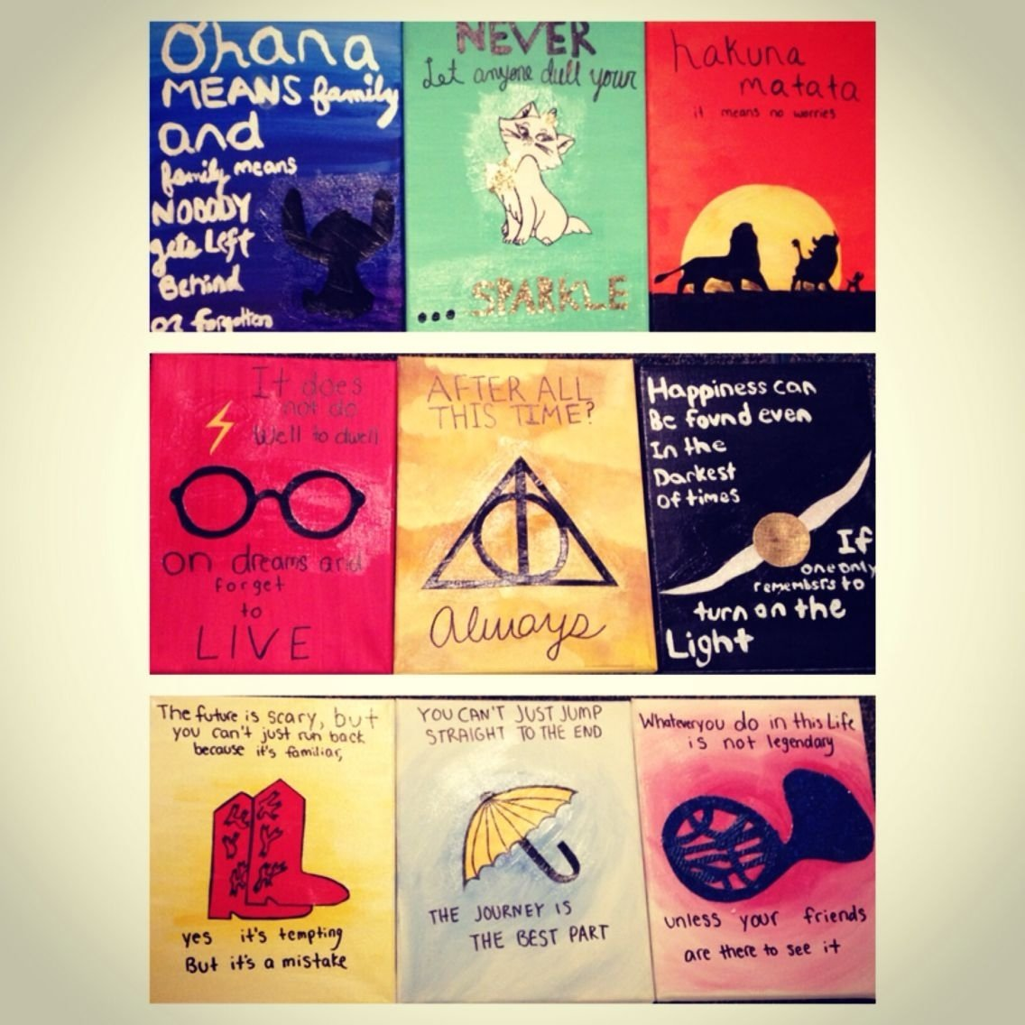 10 Lovely How I Met Your Mother Gift Ideas canvases for disney harry potter and how i met your mother 2021