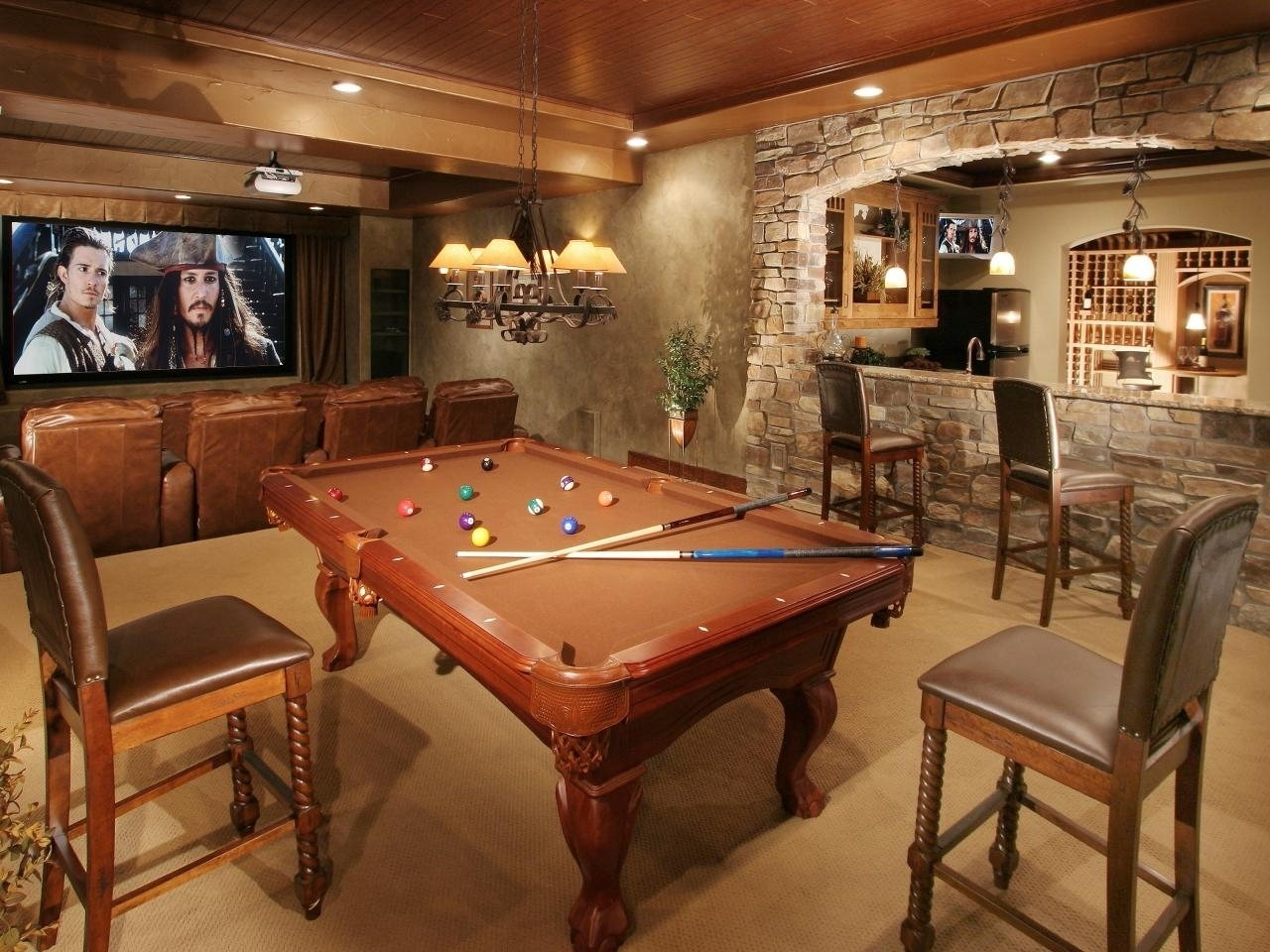 10 Amazing Man Cave Ideas For Basement %name 2020