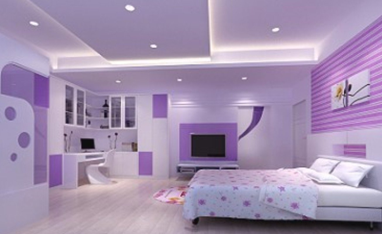 10 Lovely Pink And Purple Room Ideas captivating pink and purple bedroom ideas butterfly bedroom wall 1 2020