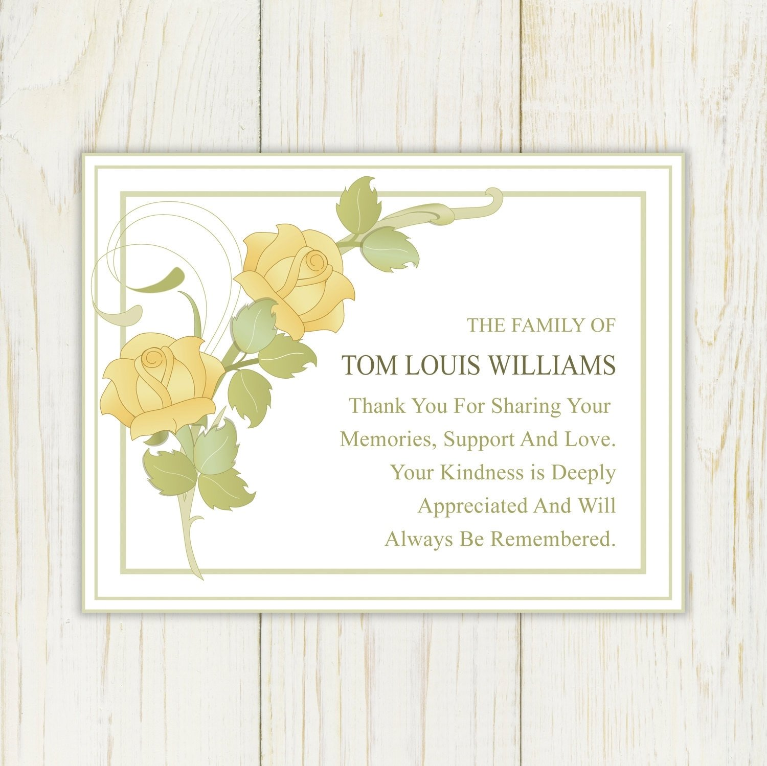 10 Fashionable Ideas For Thank You Notes card design ideas stupendous family thank you notes for sympathy 2020