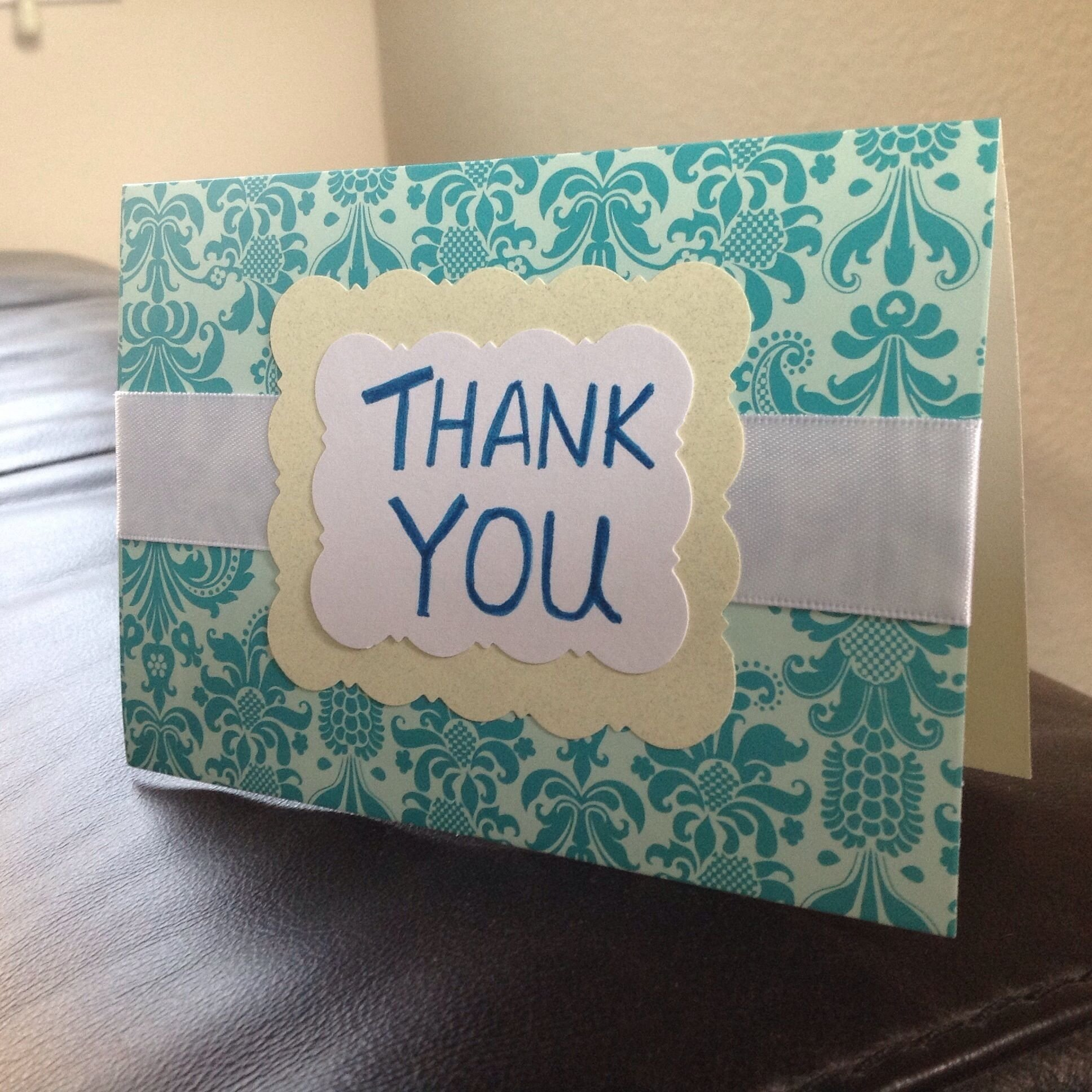 Unique Thank You Card Ideas: 10 Attractive Handmade Thank You Cards Ideas 2020