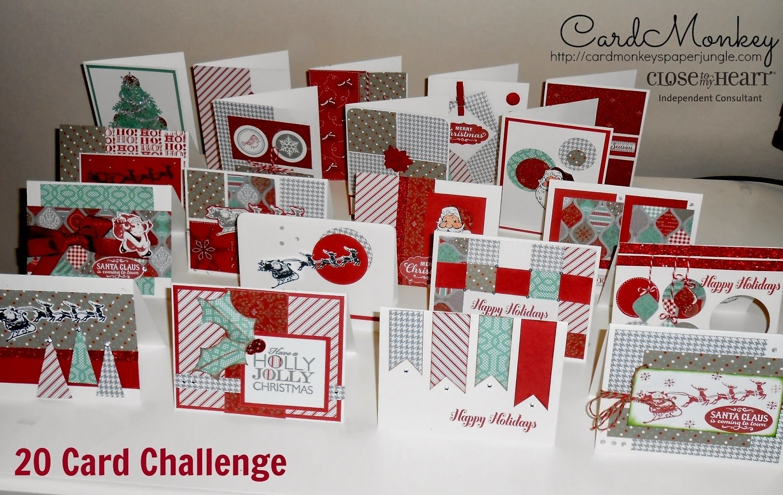 10 Best Close To My Heart Card Ideas cardmonkeys paper jungle the 20 card challenge 2021