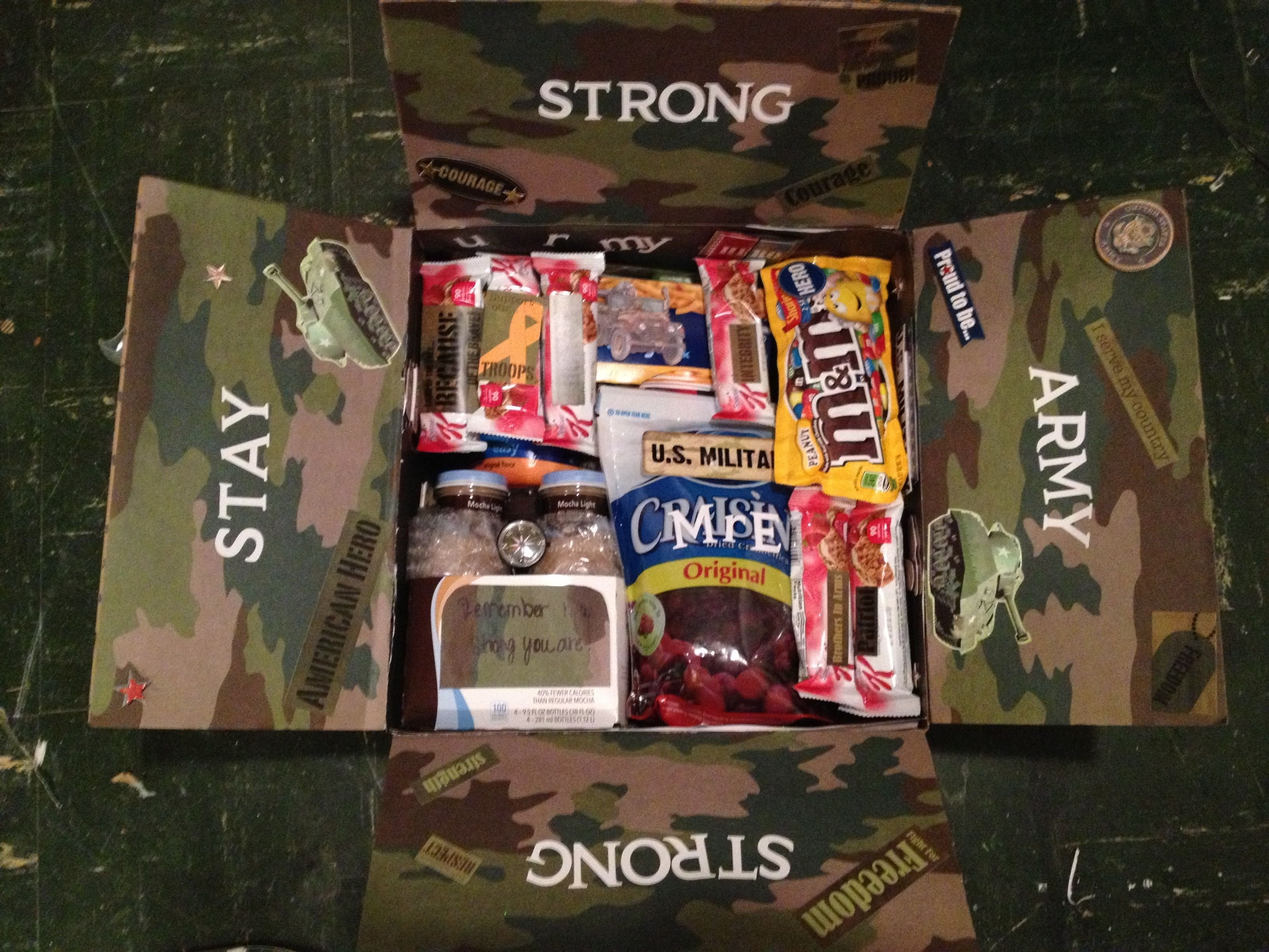 10 Most Popular Care Package Ideas For Soldiers care package ideas army soldier army and sons 2021